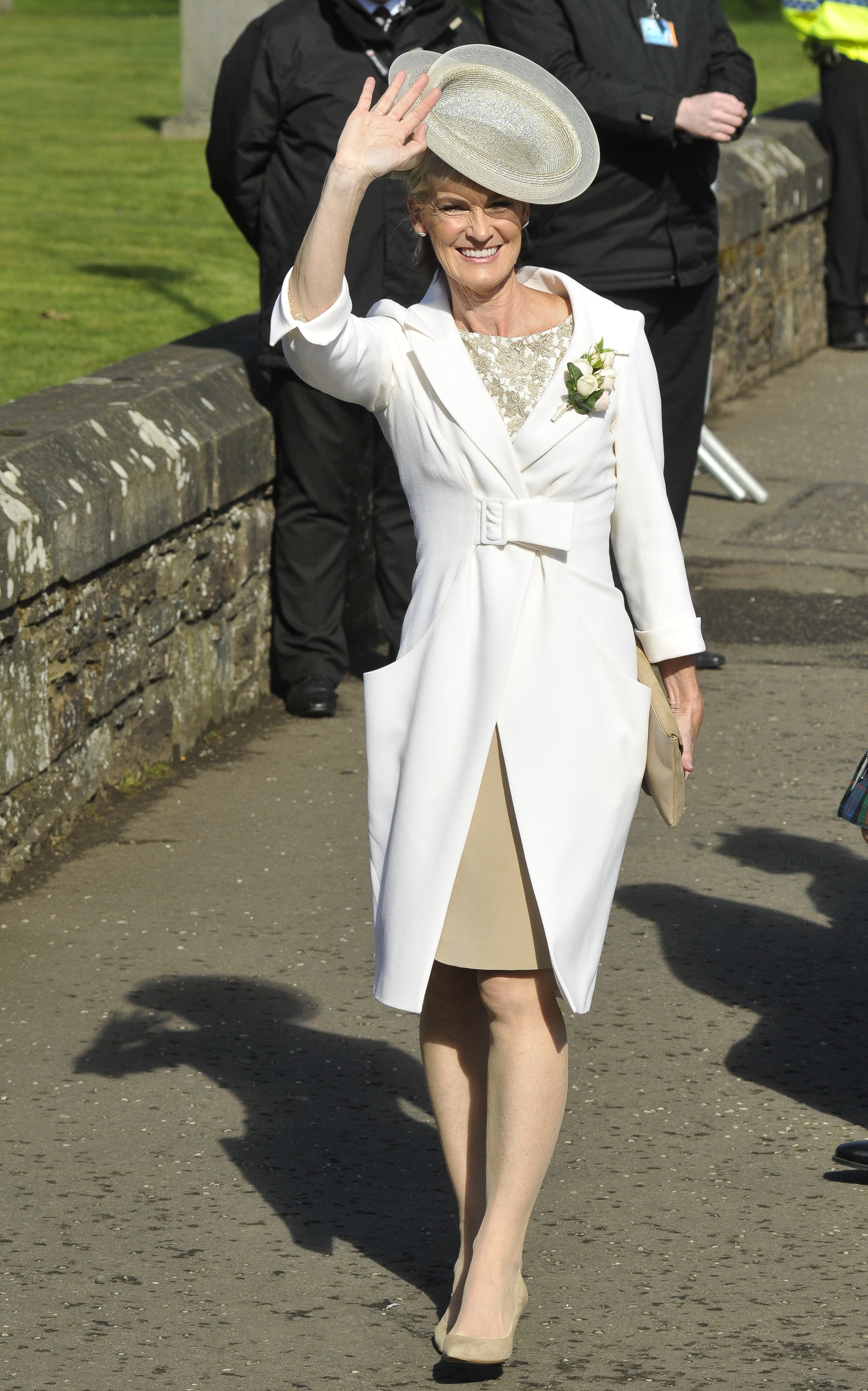 Judy Murray as the Mother of the Bride