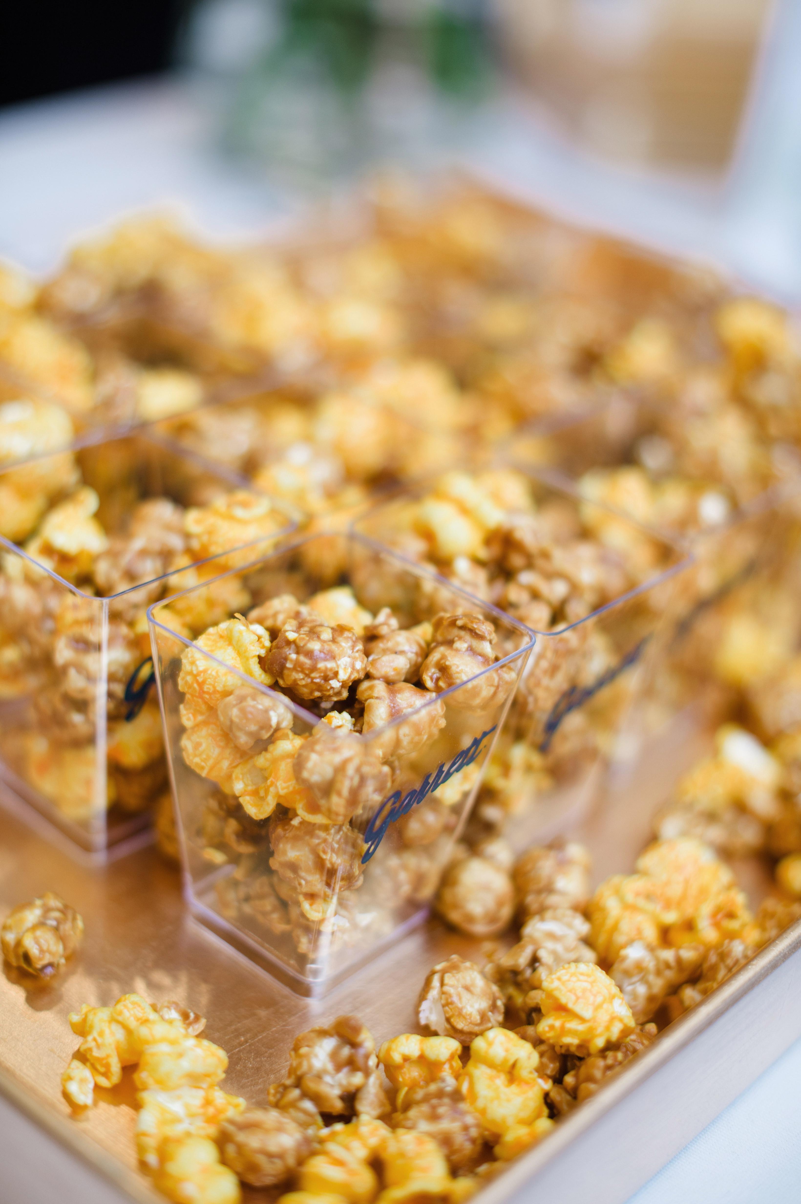 wedding party caramel popcorn
