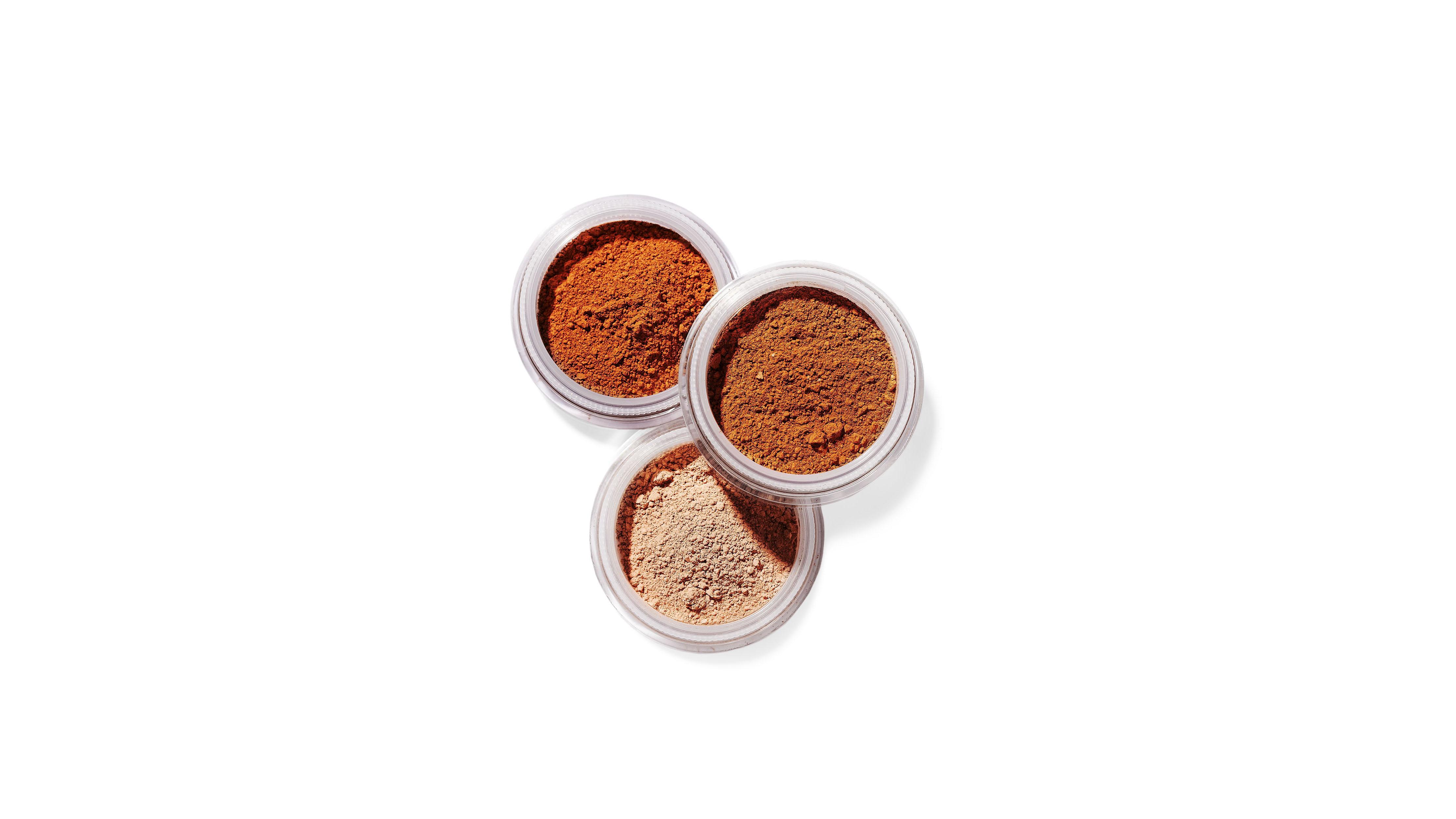 bare minerals powders