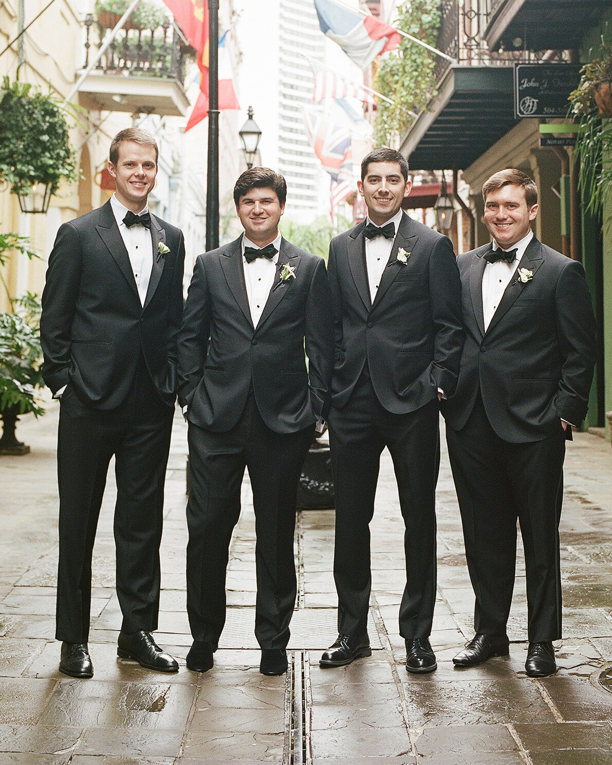 haylie brad wedding groomsmen