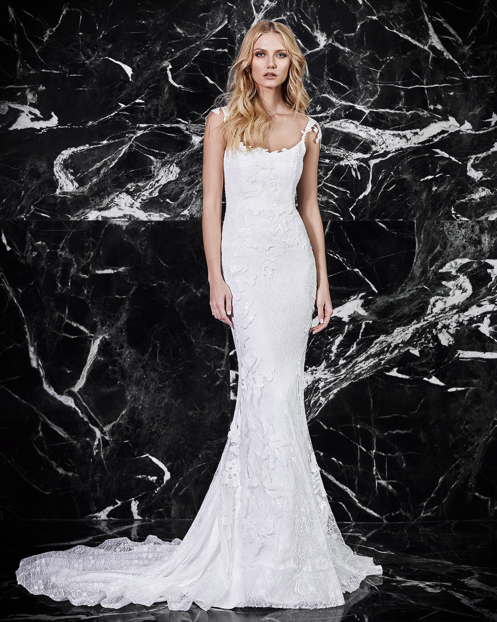 victoria kyriakides floral wedding dress spring 2018