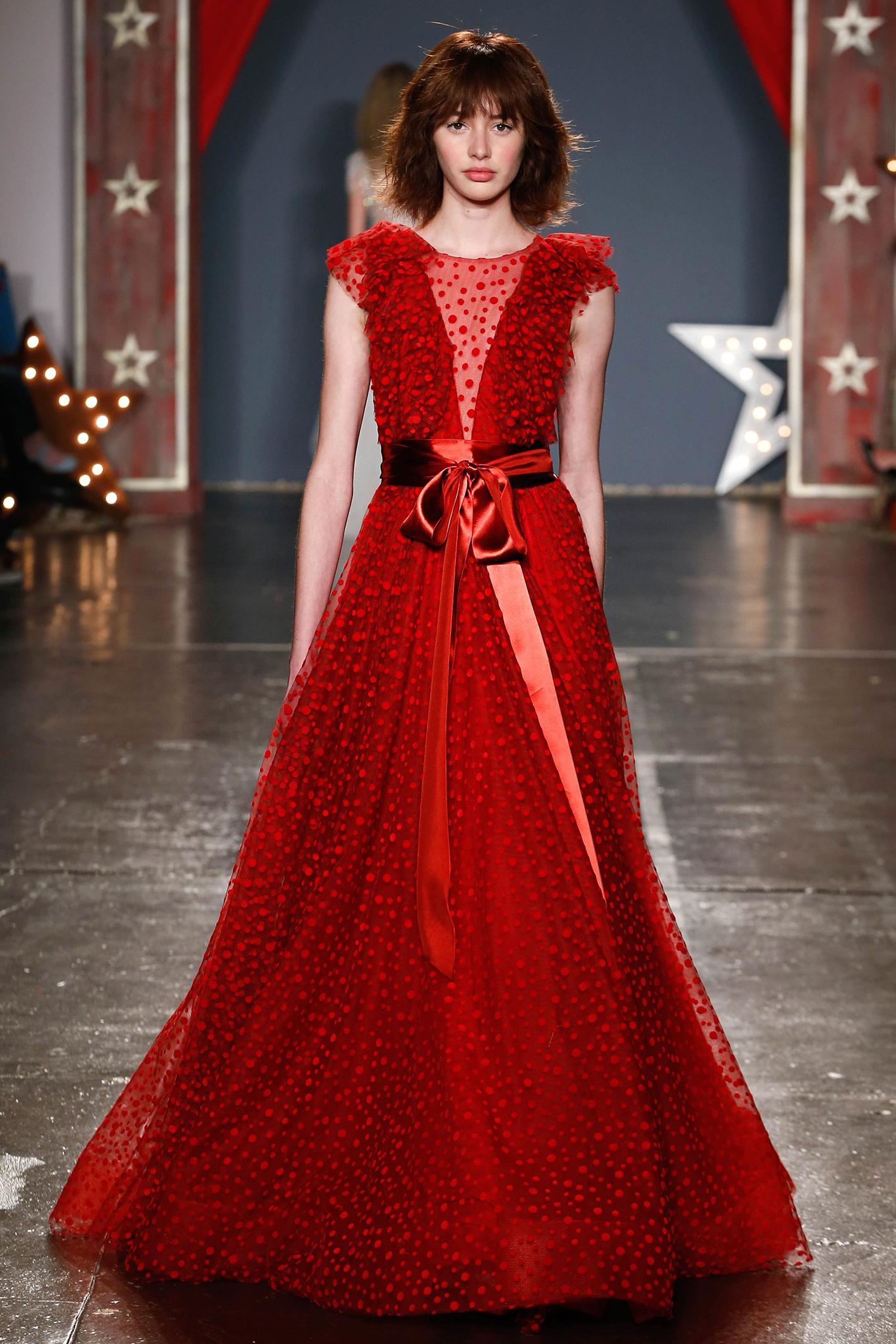 jenny packham wedding dress spring 2018 red cap sleeve belt sash