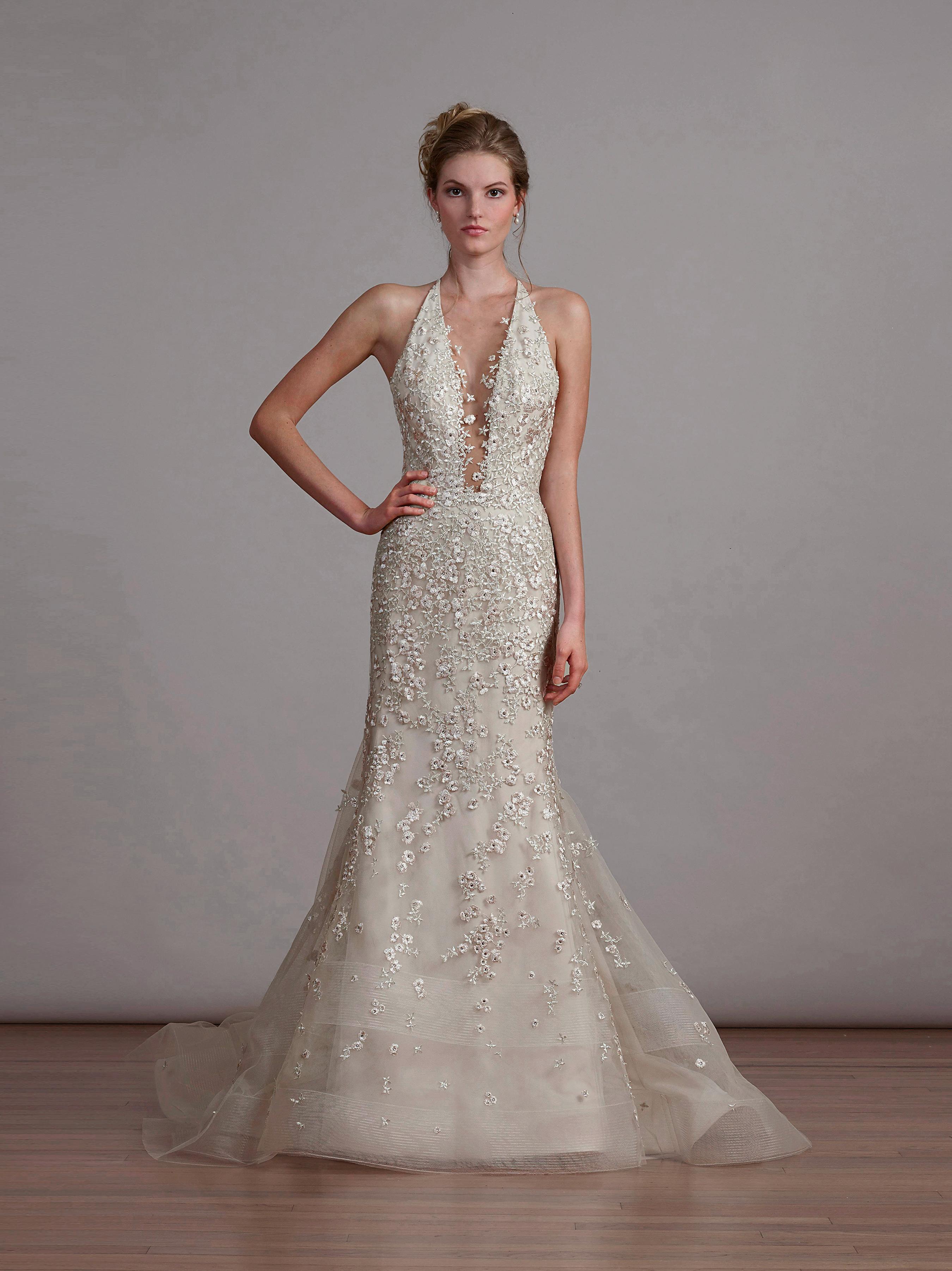 liancarlo halter wedding dress