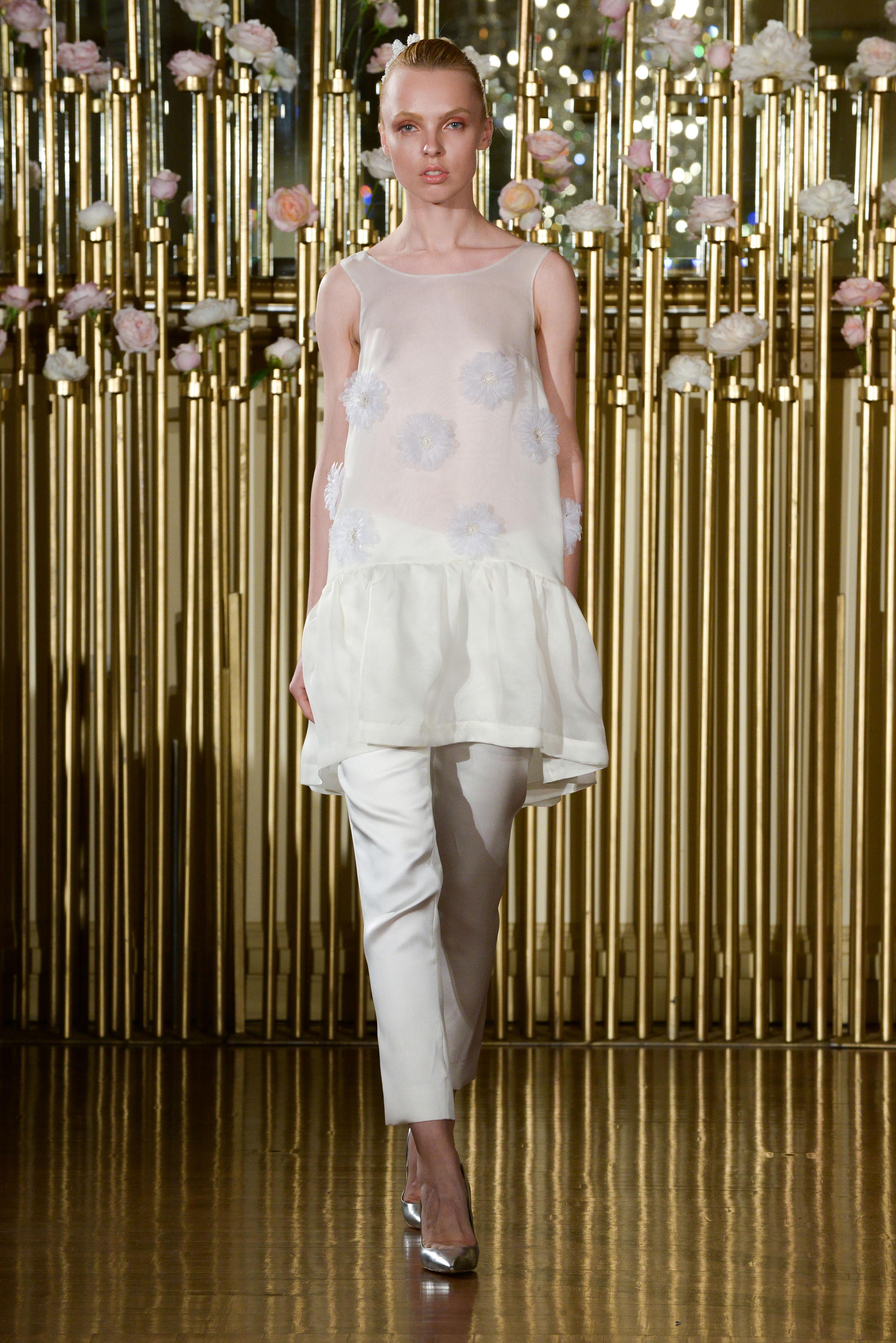 Francesca Miranda Wedding Tank and Pants Spring 2018