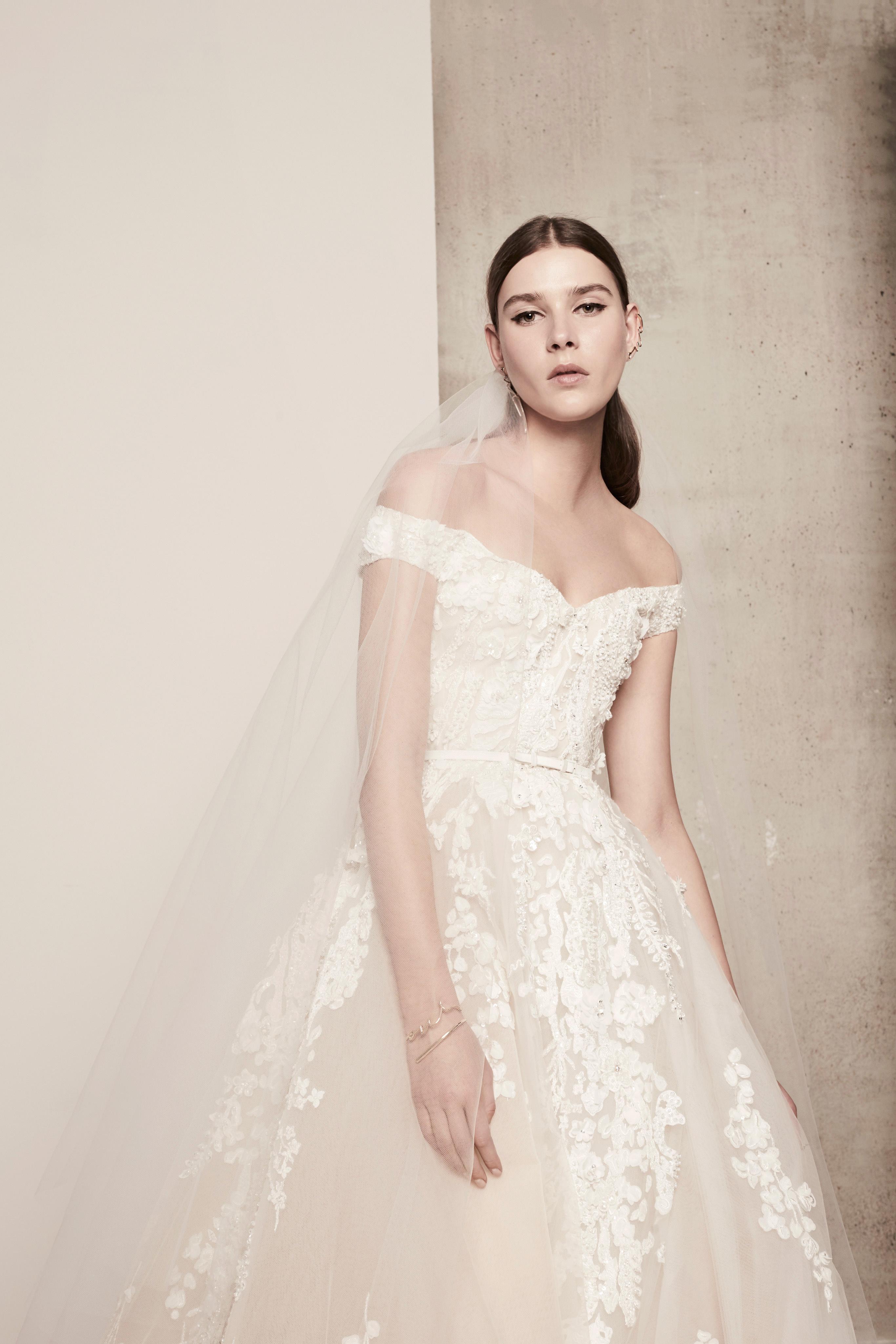 Elie Saab Wedding Dresses.Elie Saab Spring 2018 Wedding Dress Collection Martha Stewart Weddings