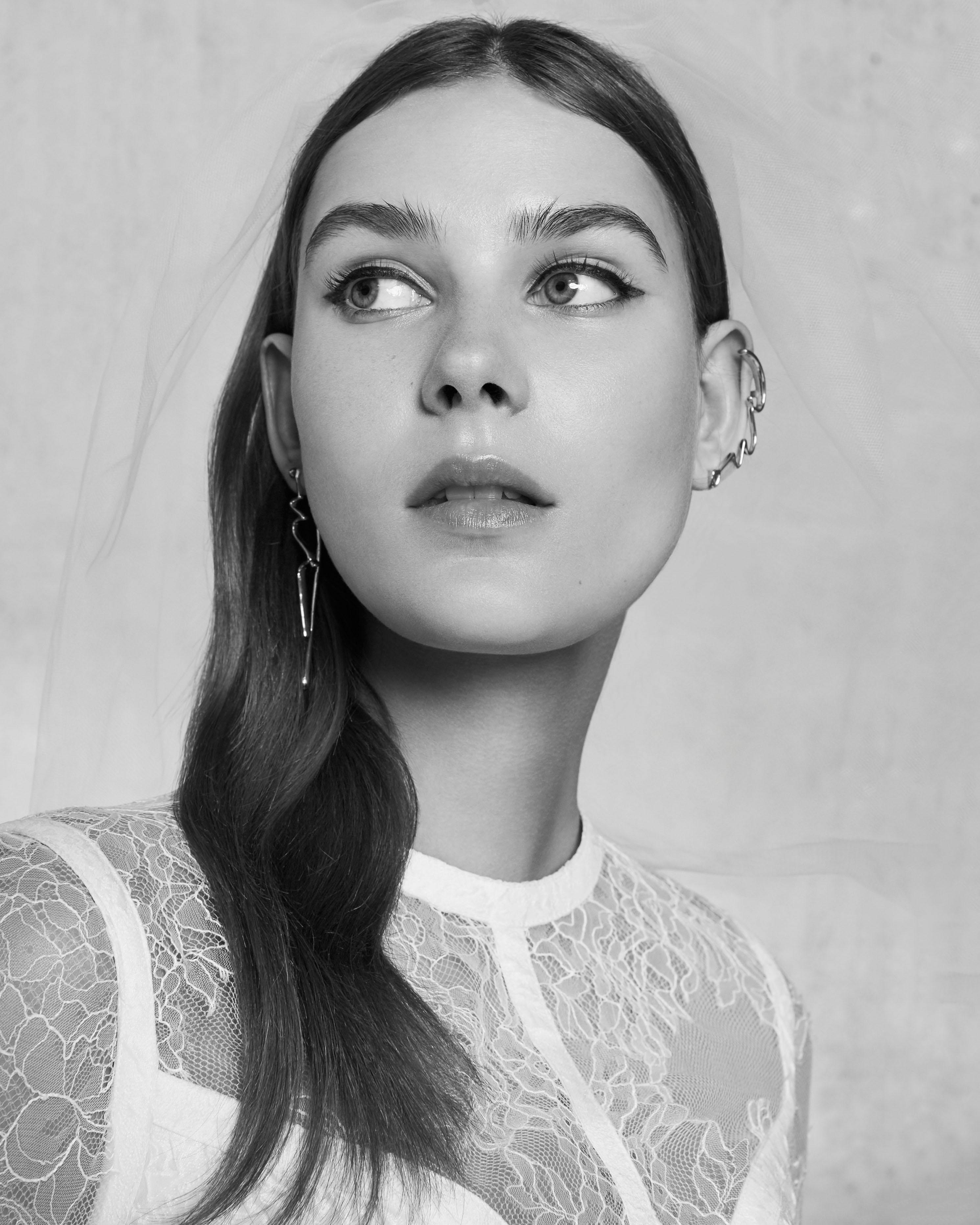 lace high neck elie saab wedding dress spring 2018