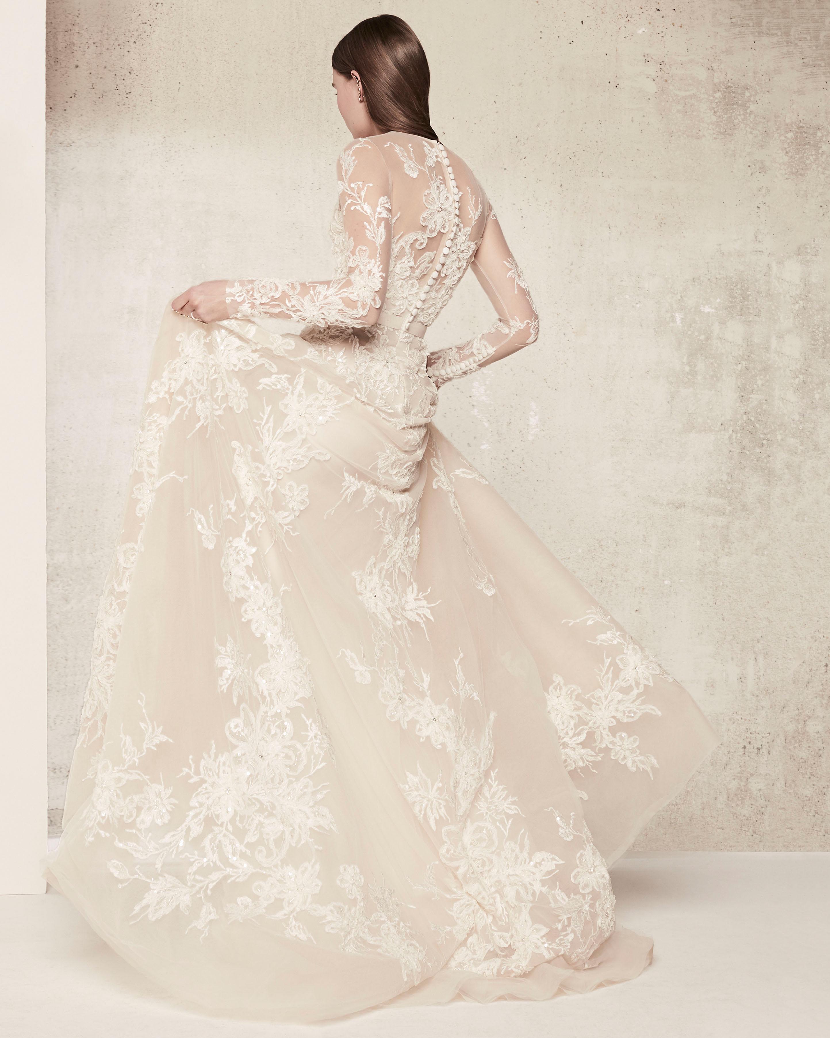 Wedding Gown Elie Saab: Elie Saab Spring 2018 Wedding Dress Collection