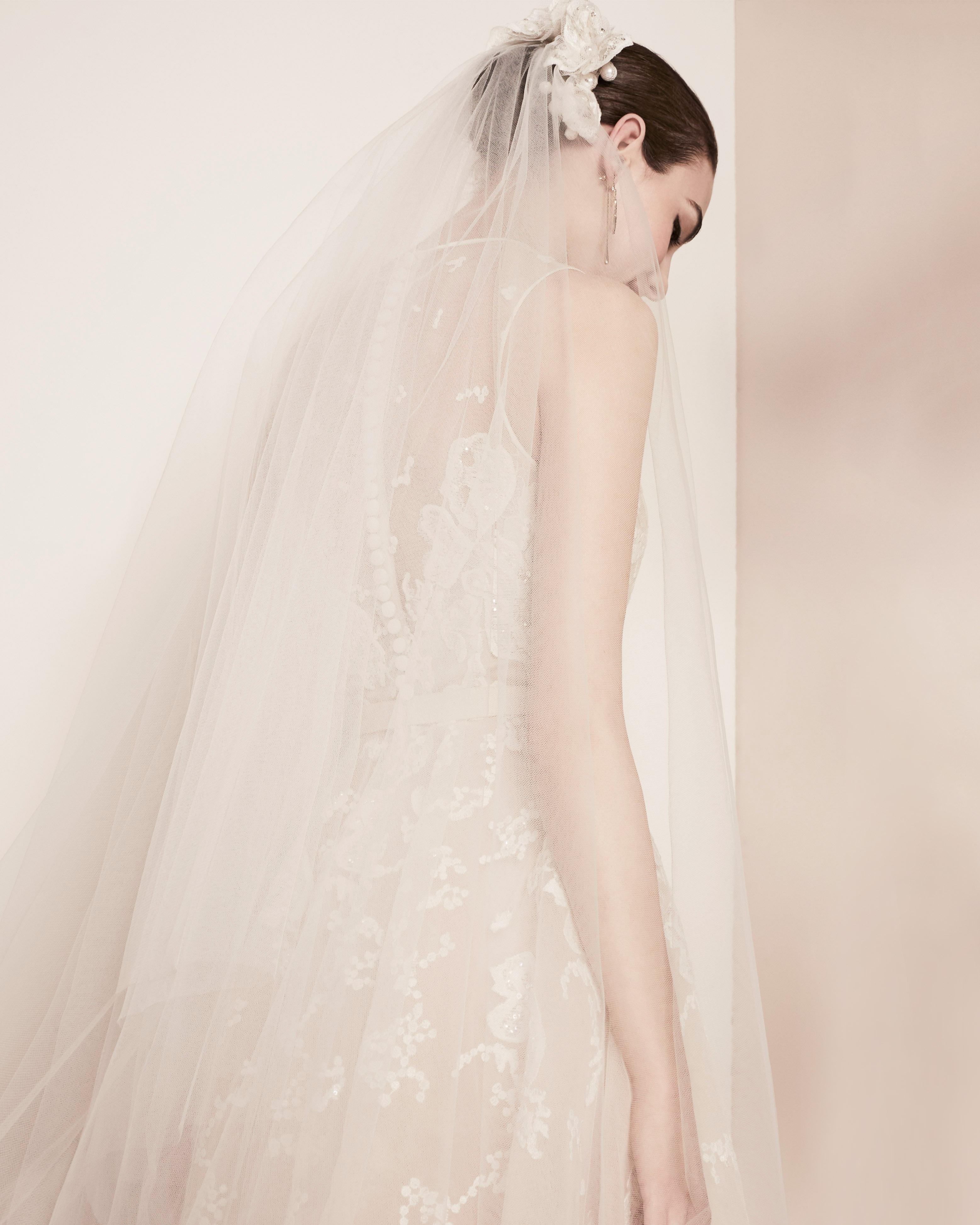 illusion lace elie saab wedding dress spring 2018