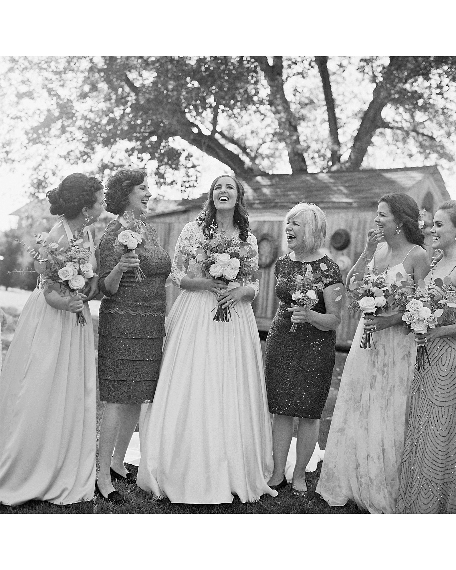 rachel elijah wedding bridal party