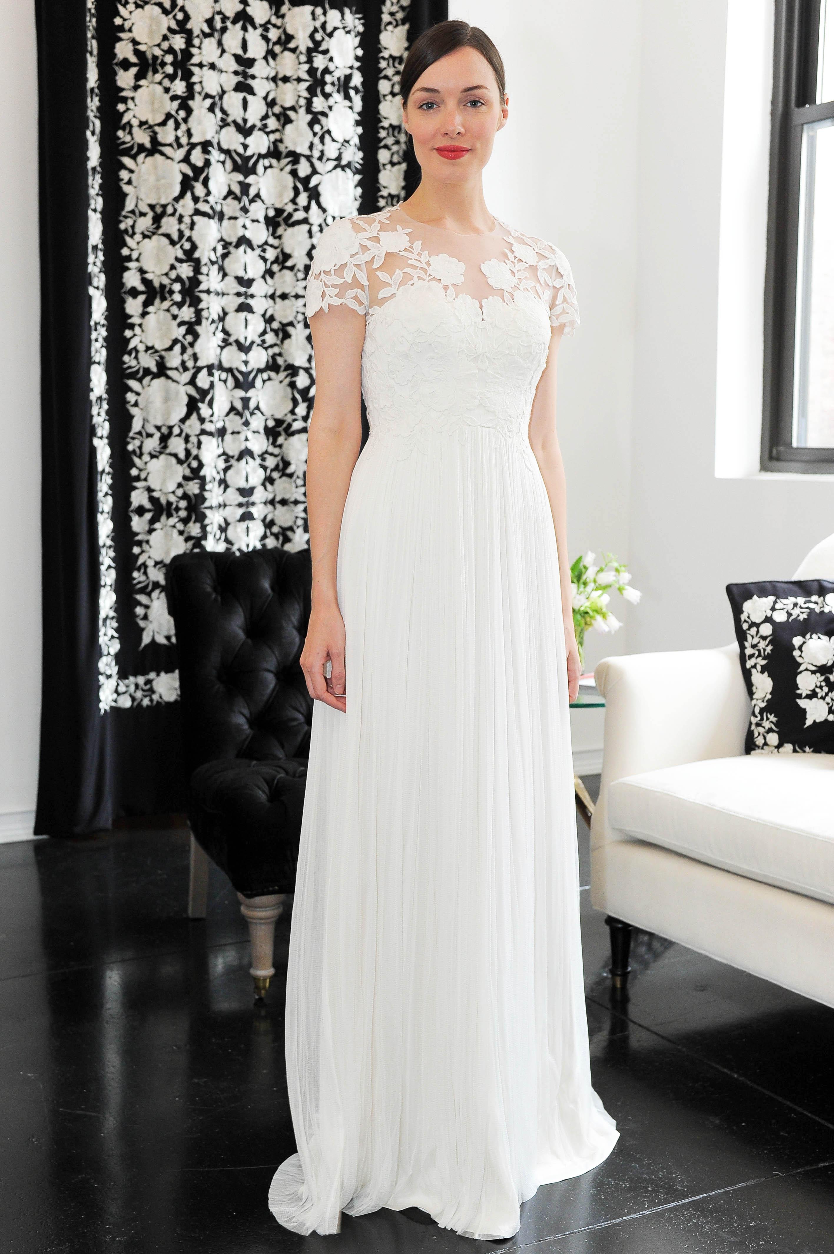 short sleeve lace catherine deane wedding dress spring 2018