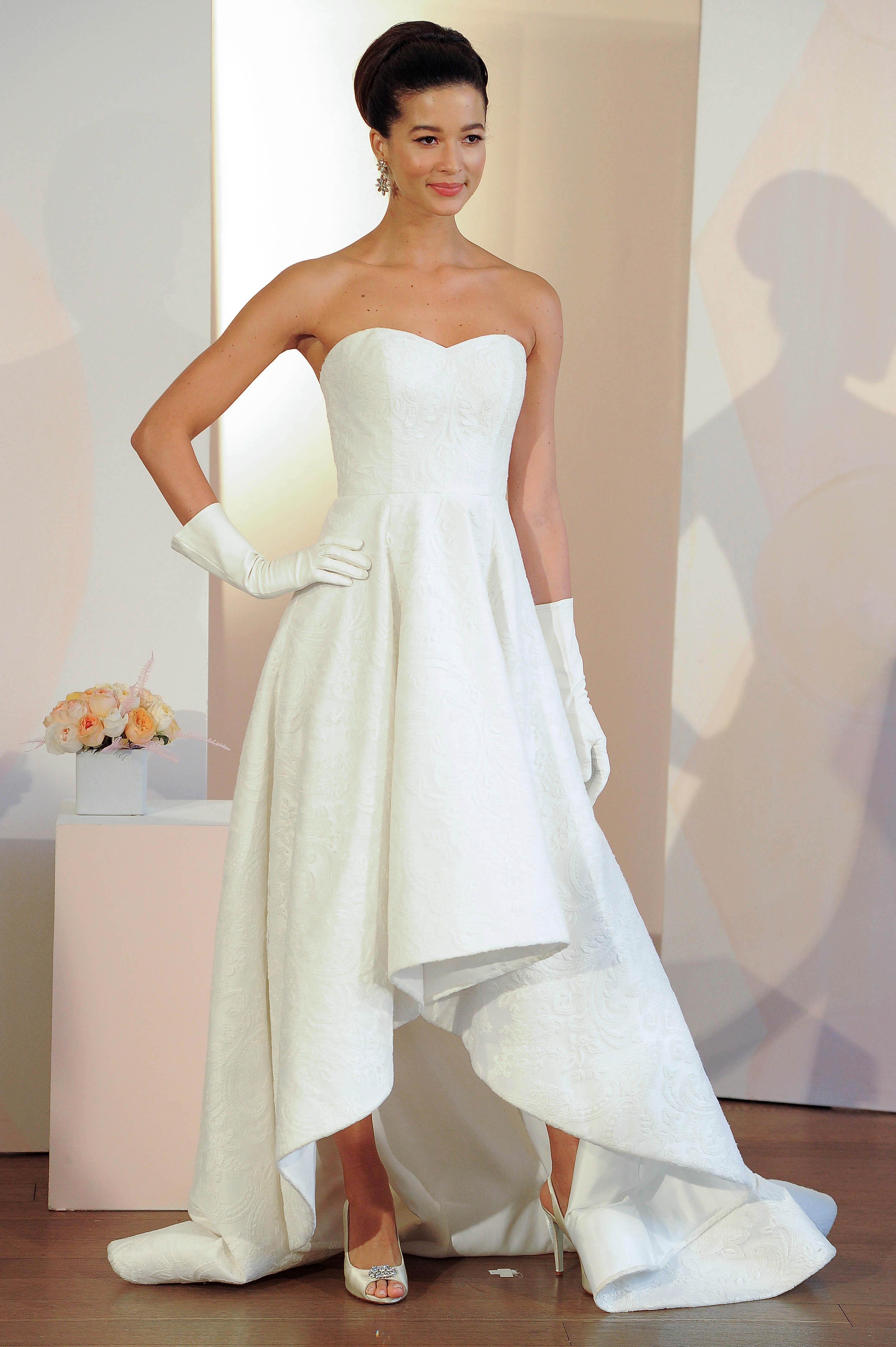 anne barge sweat heart strapless wedding dress spring 2018