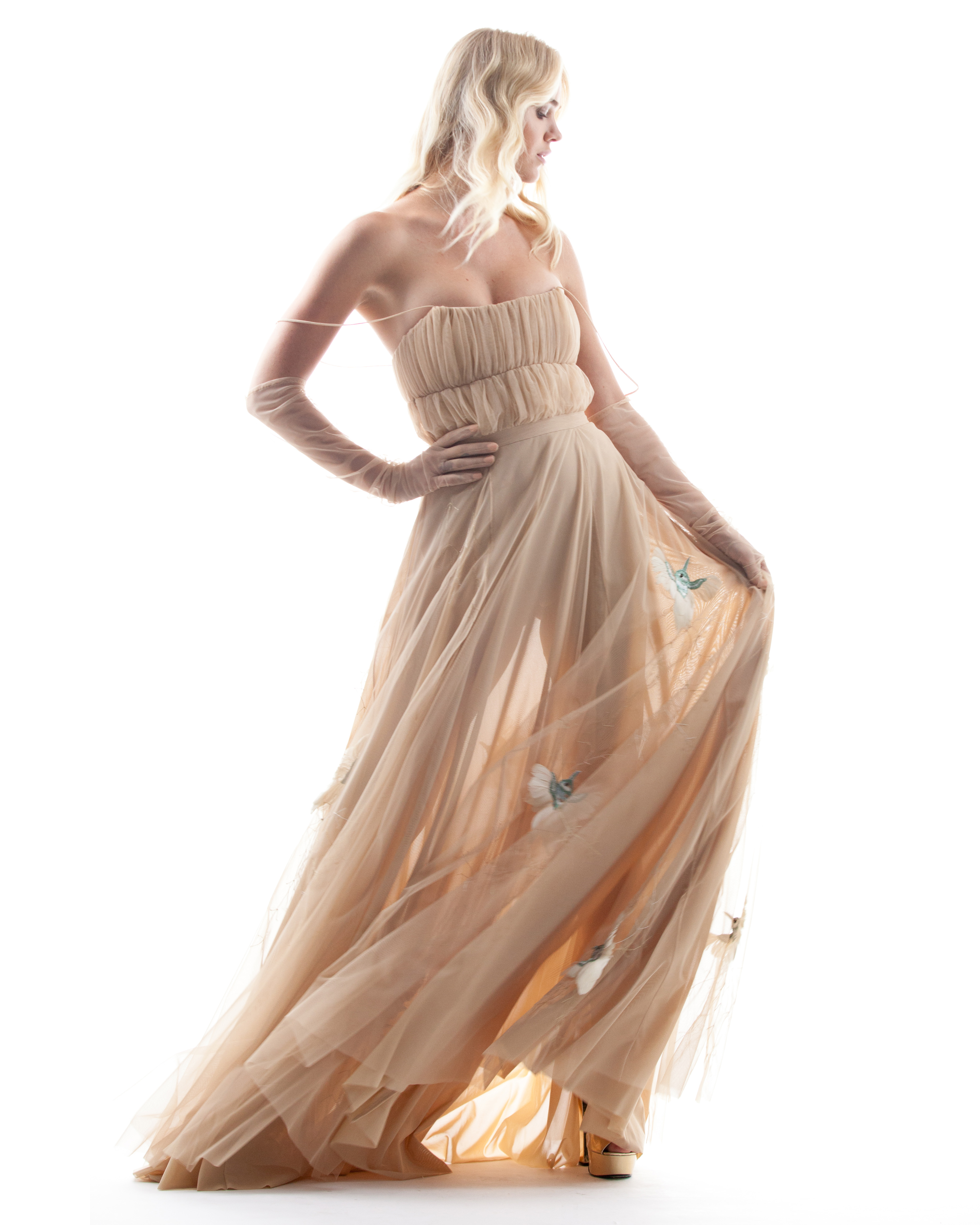 sheer houghton wedding dress spring 2018