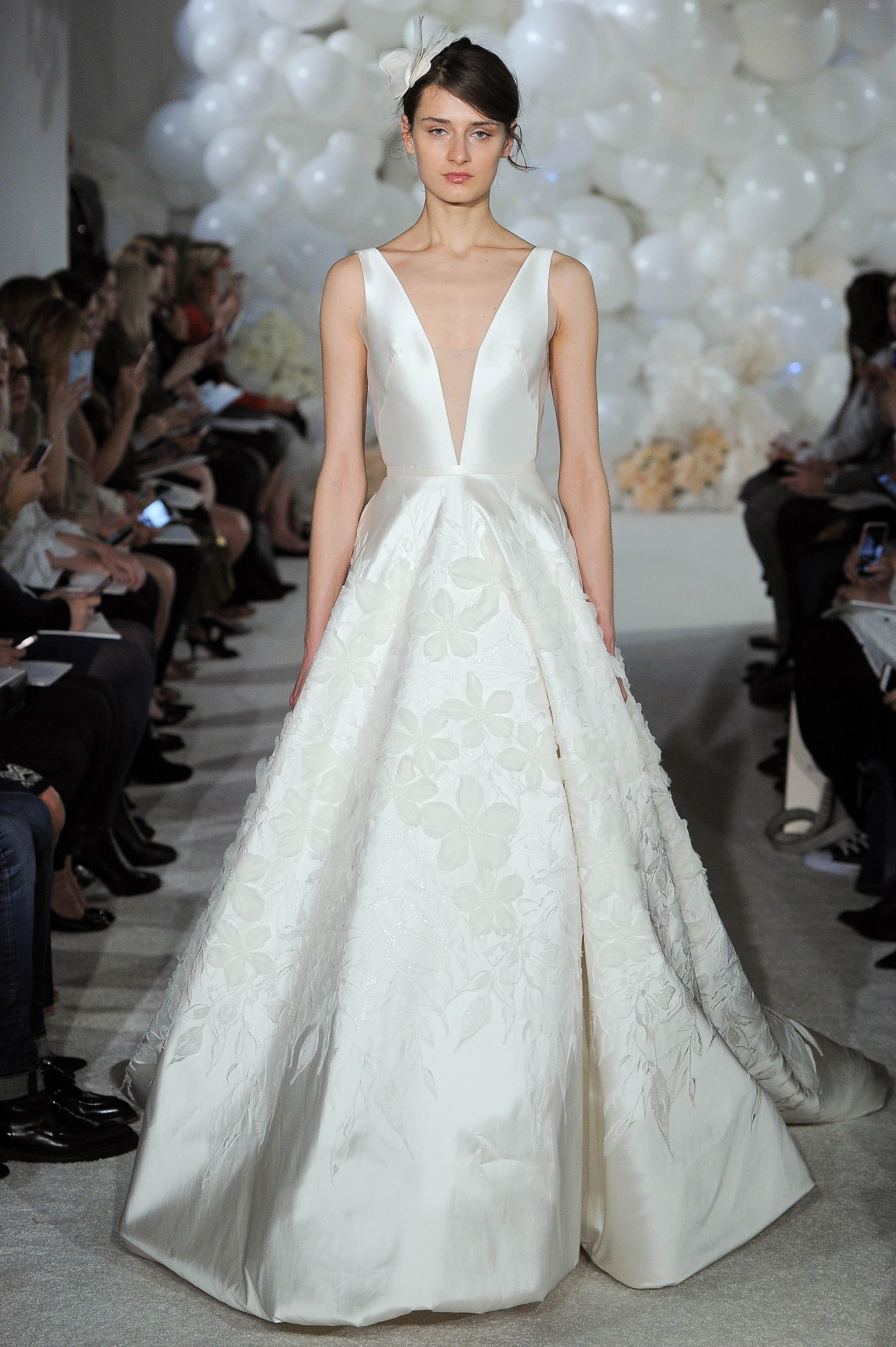 mira zwillinger wedding dress spring 2018 v-neck