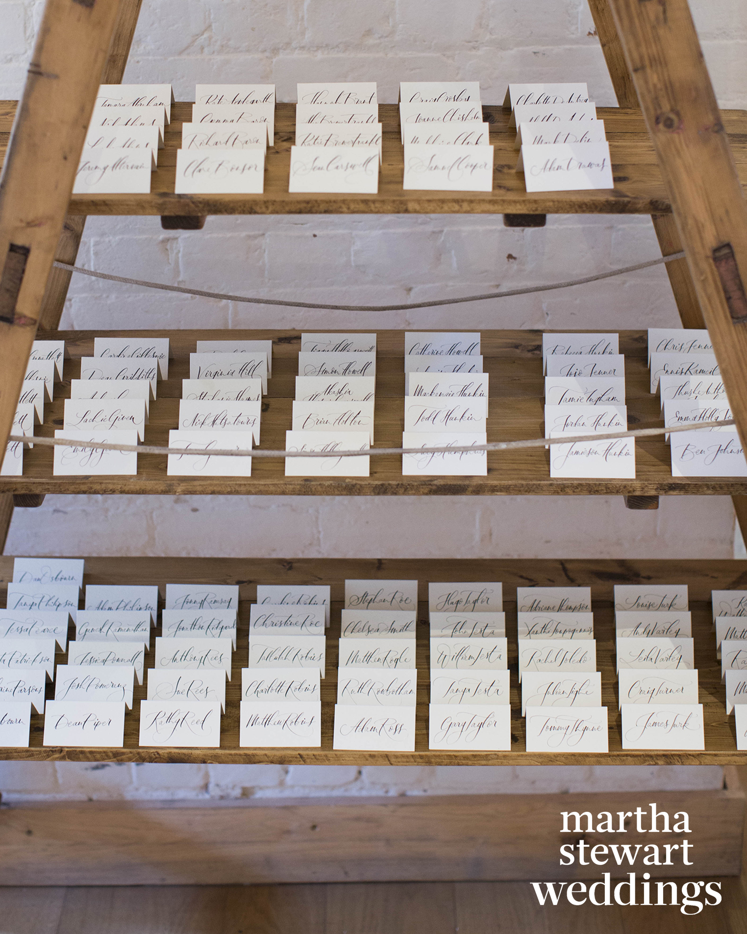 Traditional Escort Cards