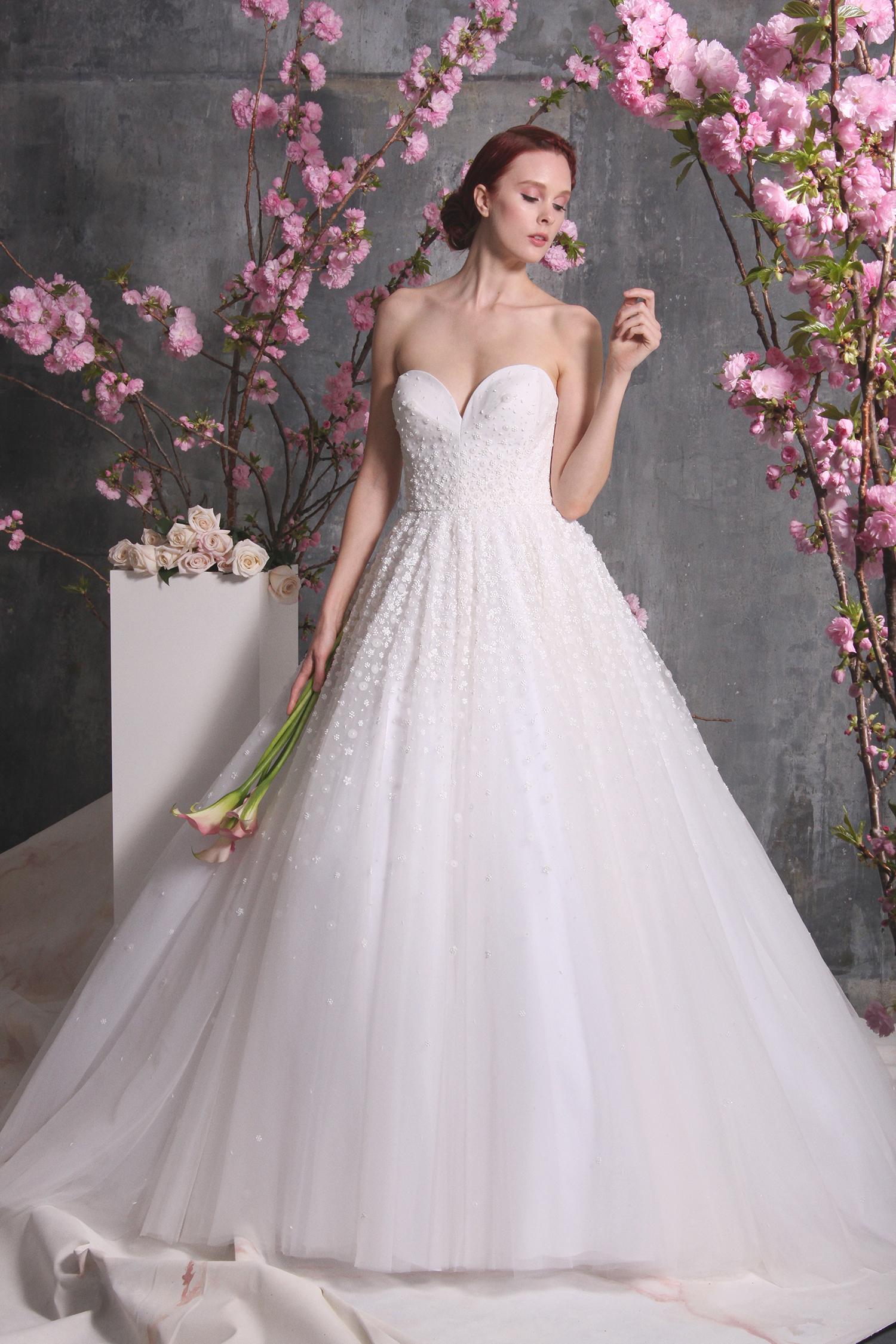 christian siriano dress spring 2018 sweetheart a-line