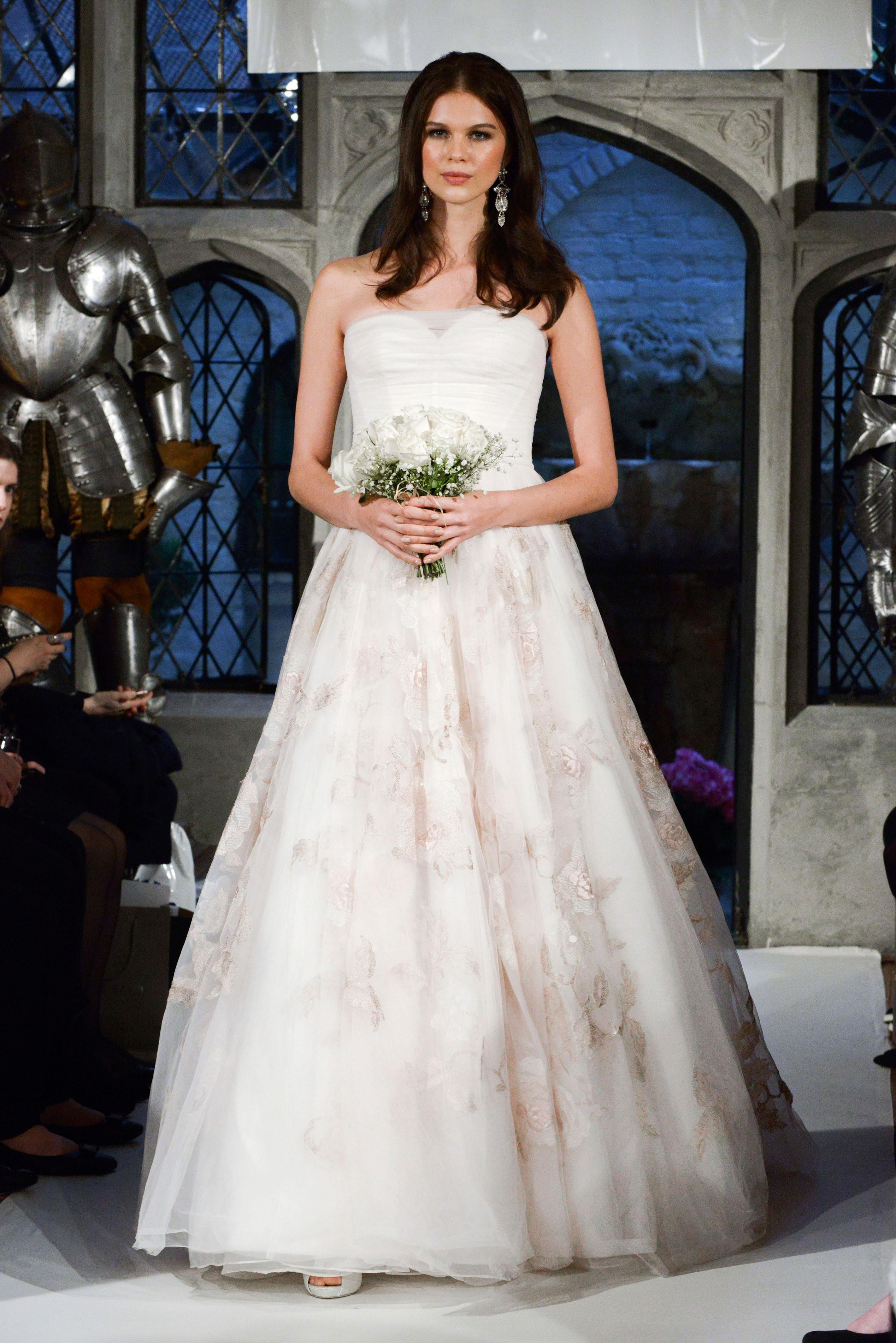 oleg cassini lace wedding dress spring 2018