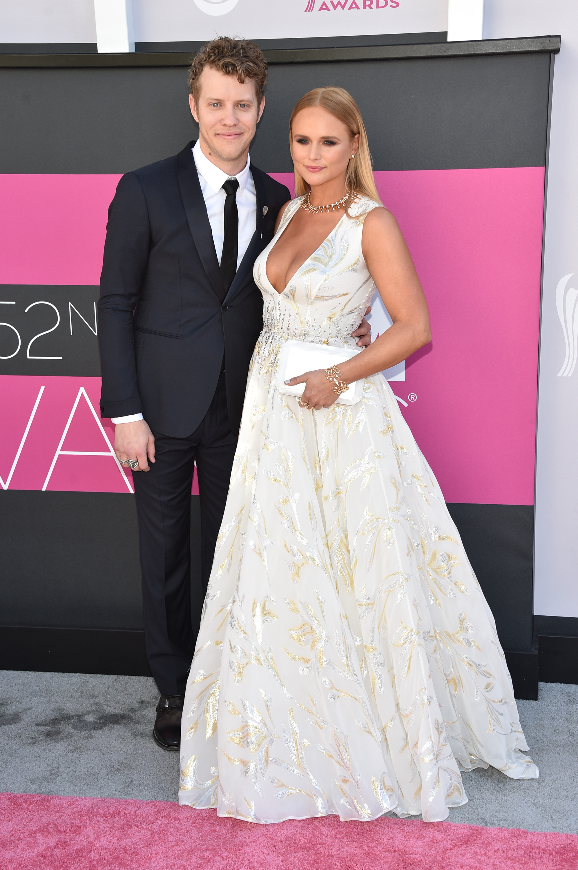 Miranda Lambert and Anderson East at Academy of Country Music Awards