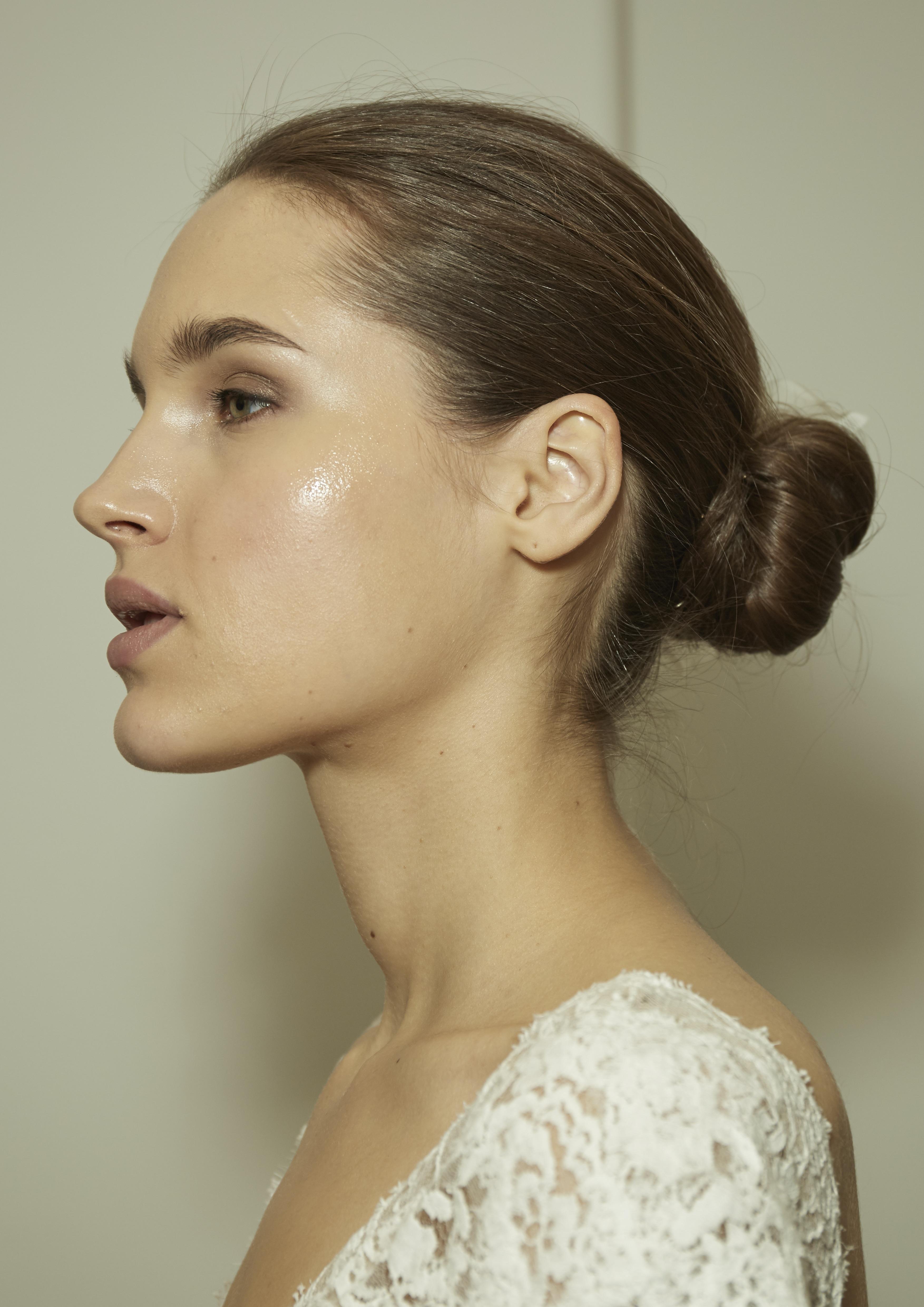 Monique Lhuillier Bridal Fashion Week Spring 2018 Beauty Look