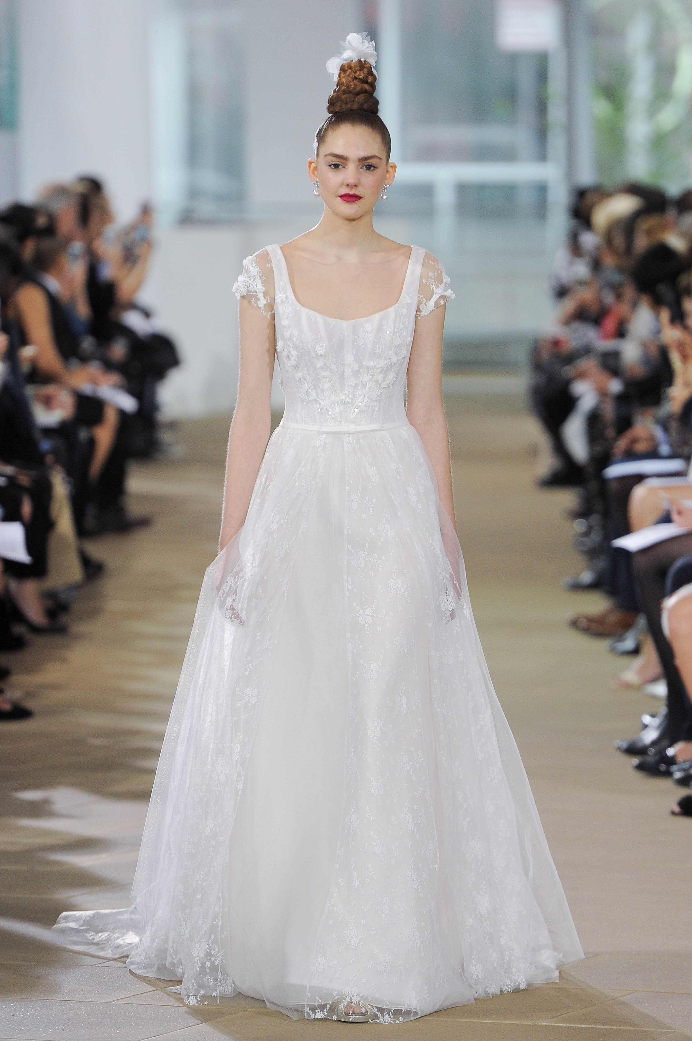 ines di santo a-line wedding dress spring 2018