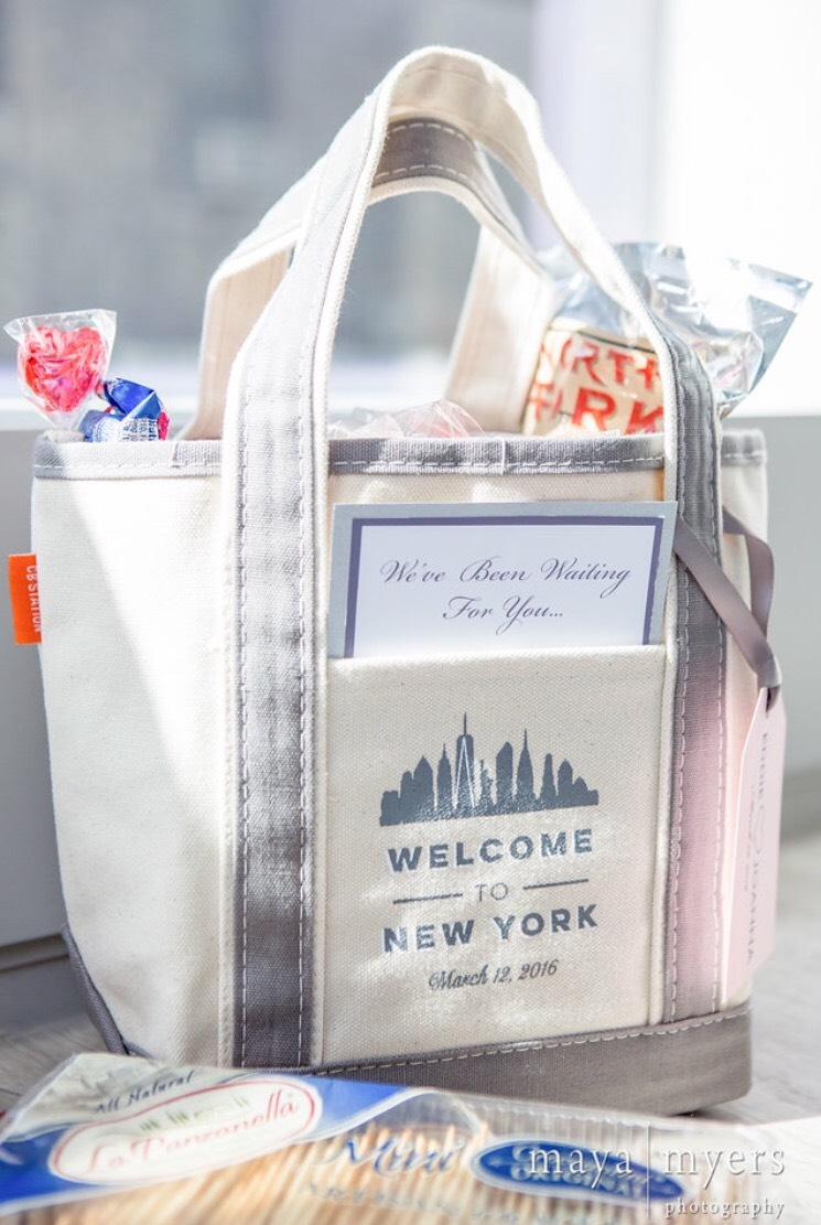 Kick It Off with a Welcome Bag
