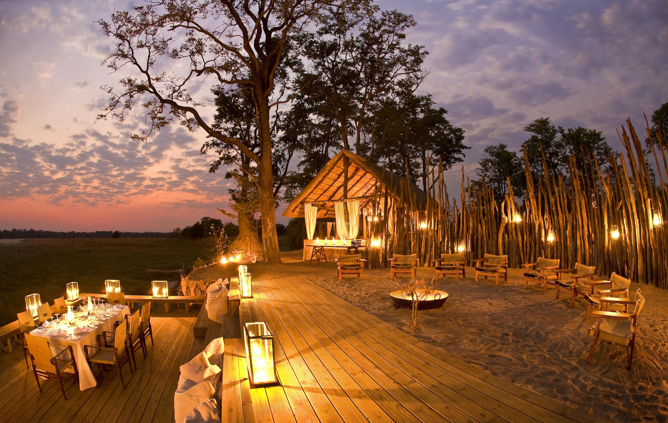 Bushcamp in Zambia