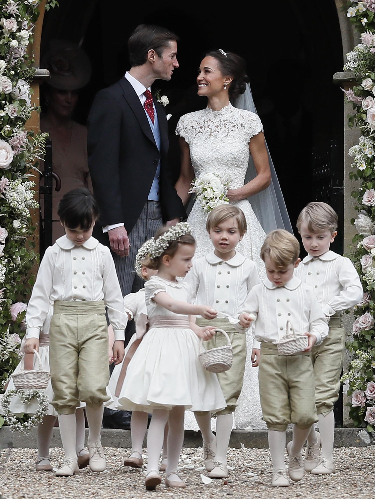 Pippa Middleton and James Matthews wedding day