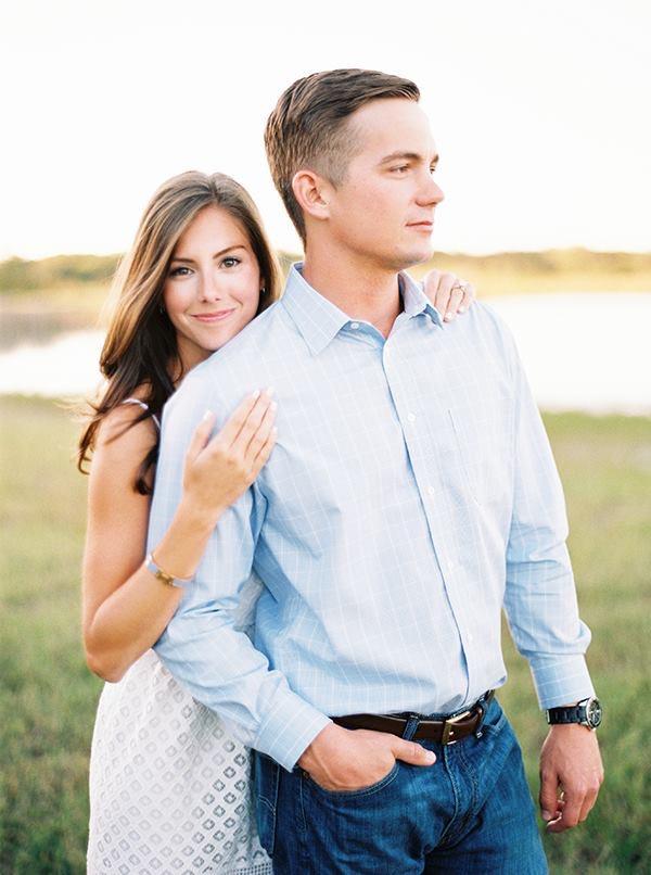 Posed Engagement Photo