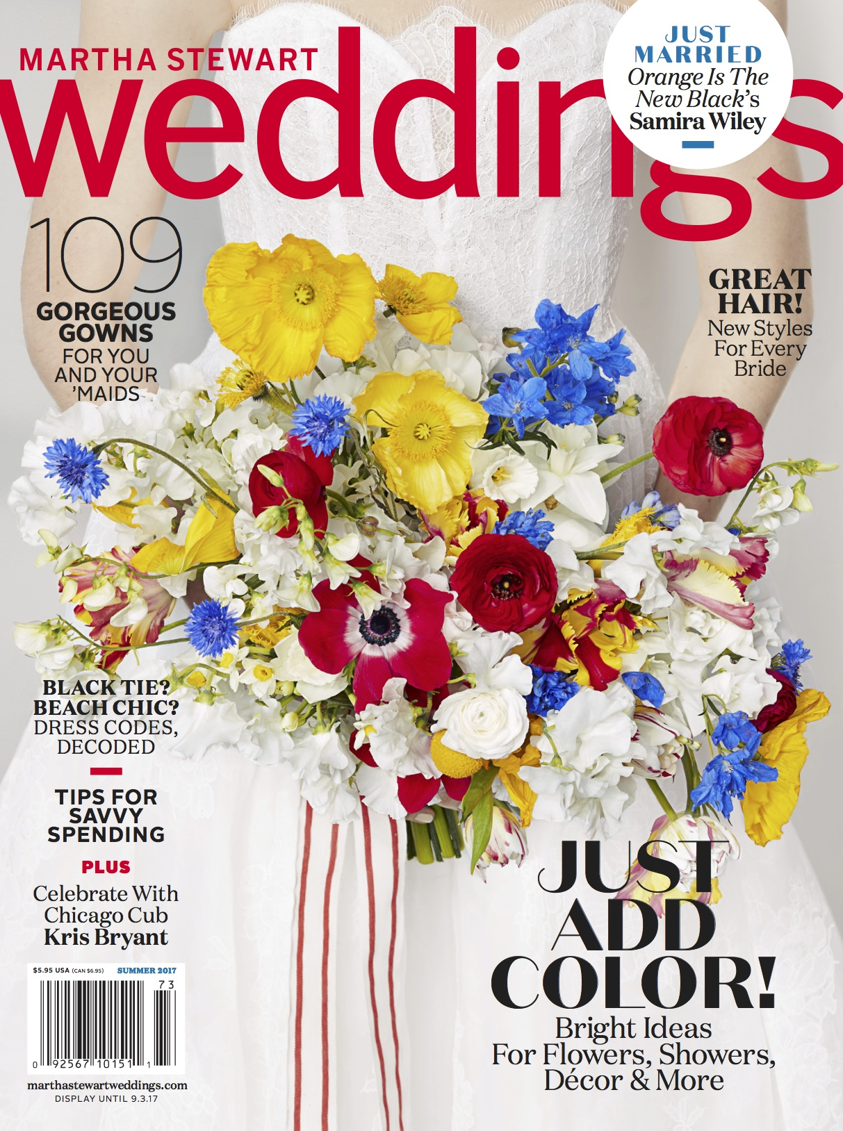 Martha Stewart Weddings Summer 2017 Cover