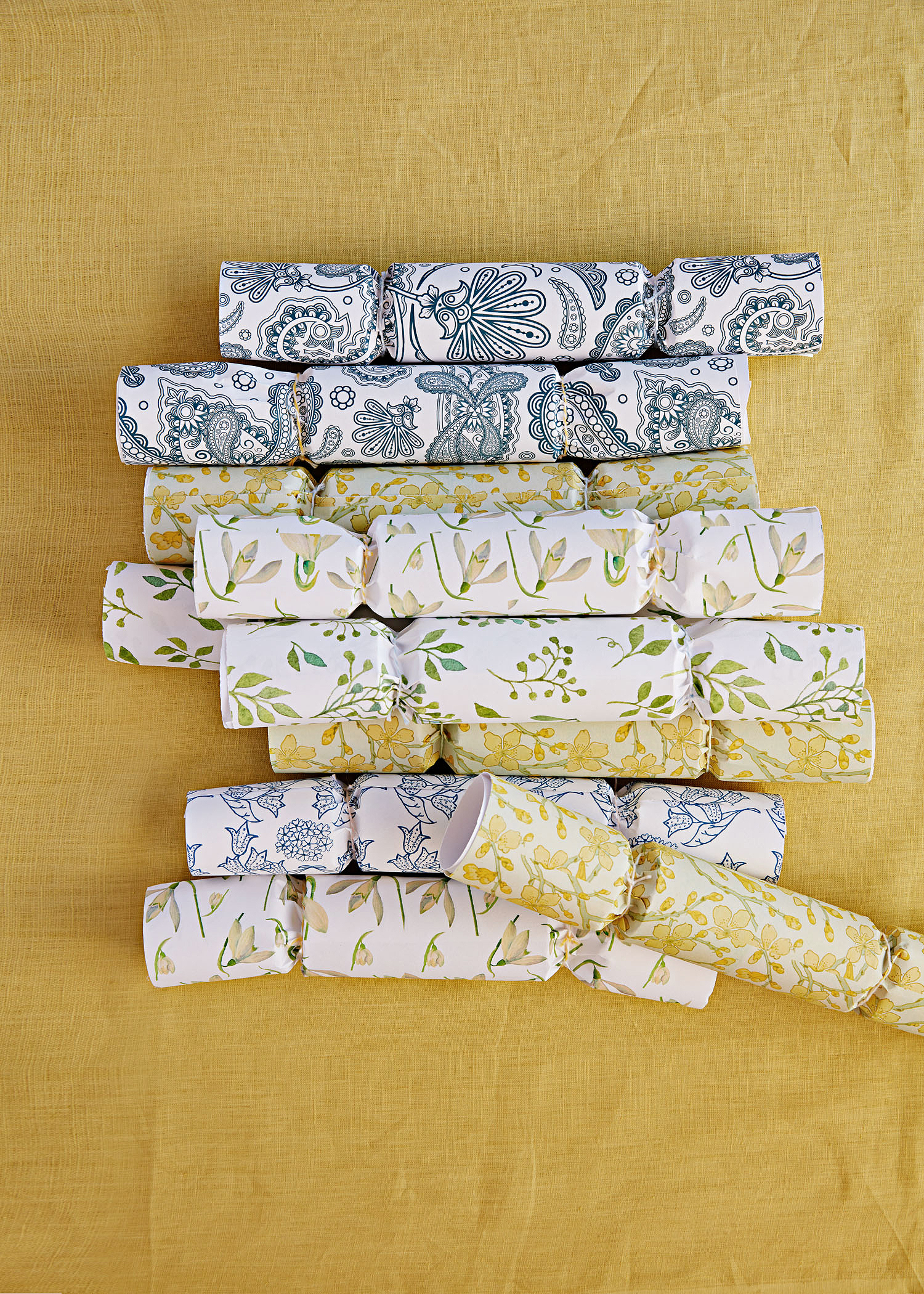 wrapped crackers