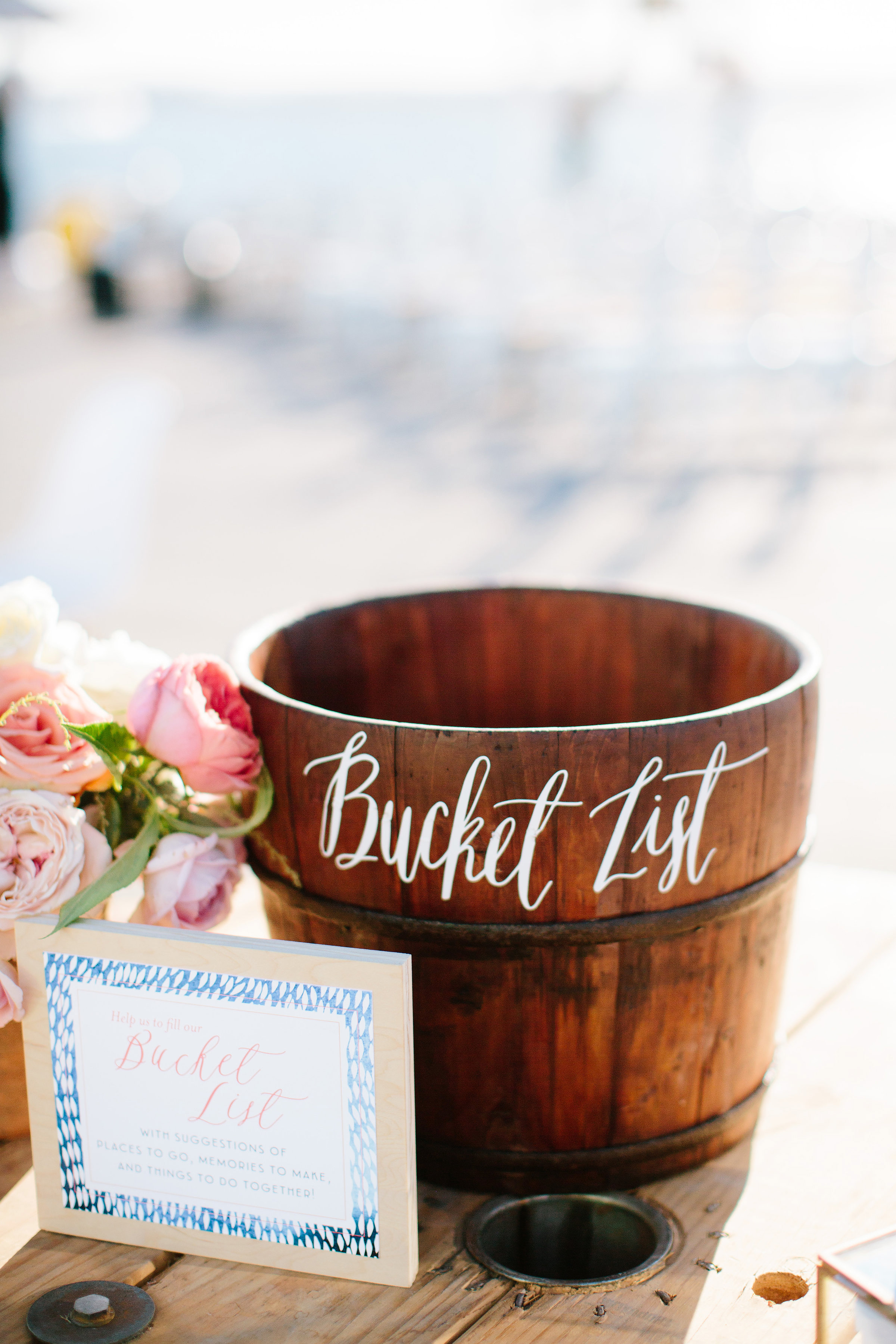 julie anthony real wedding bucketlist