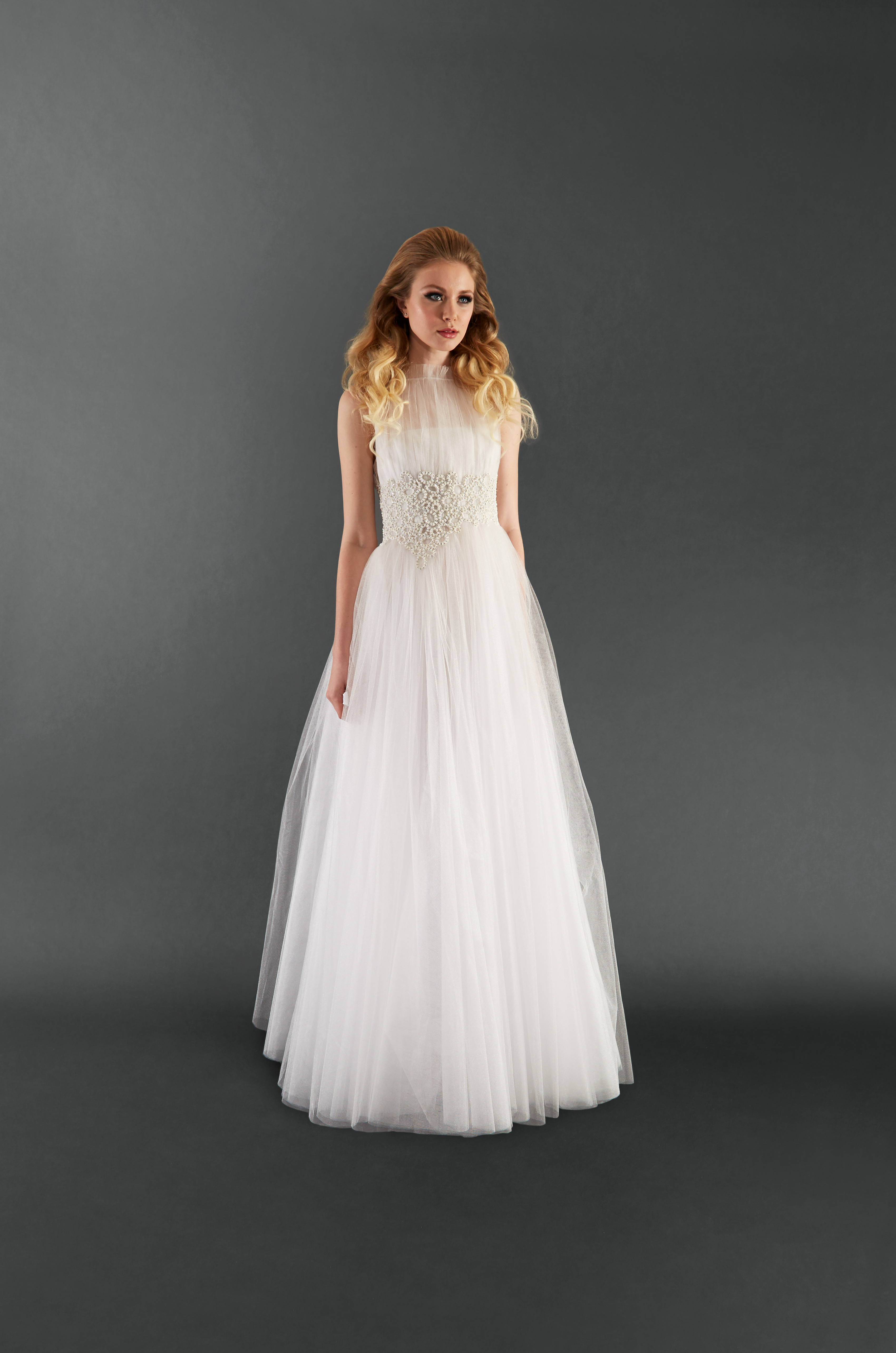 randi rahm tulle wedding dress spring 2018