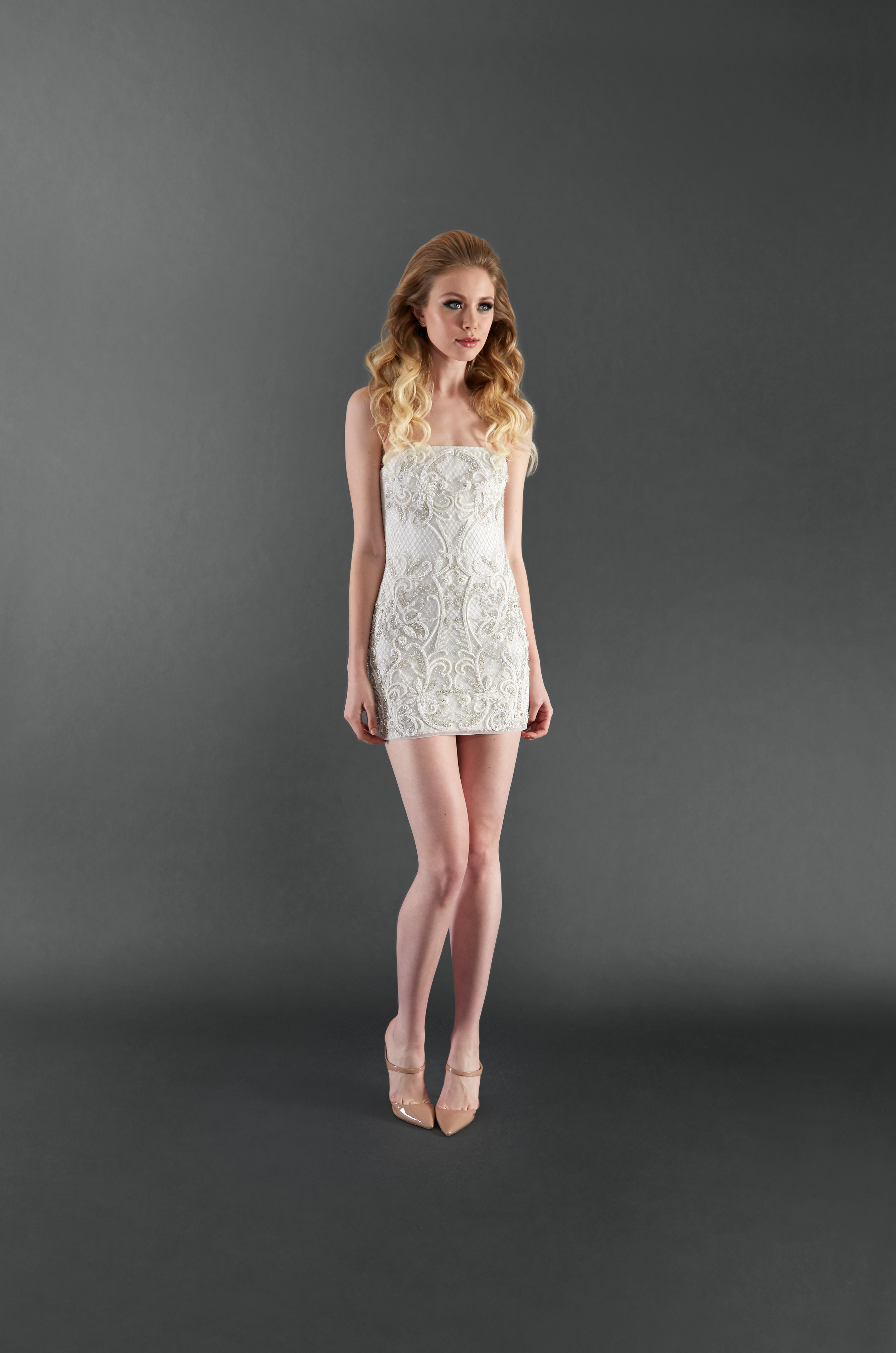 randi rahm short wedding dress spring 2018