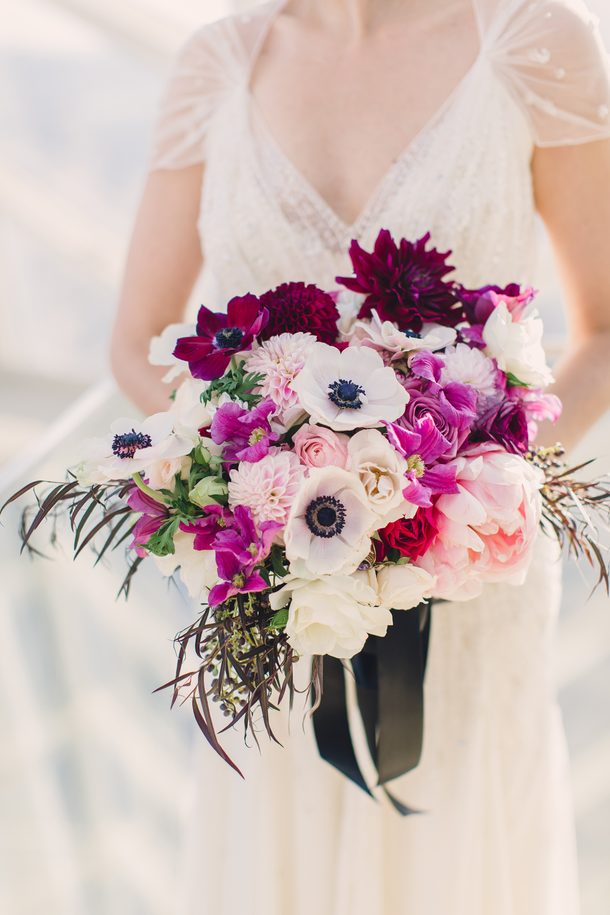 anemone bouquets lauren fair