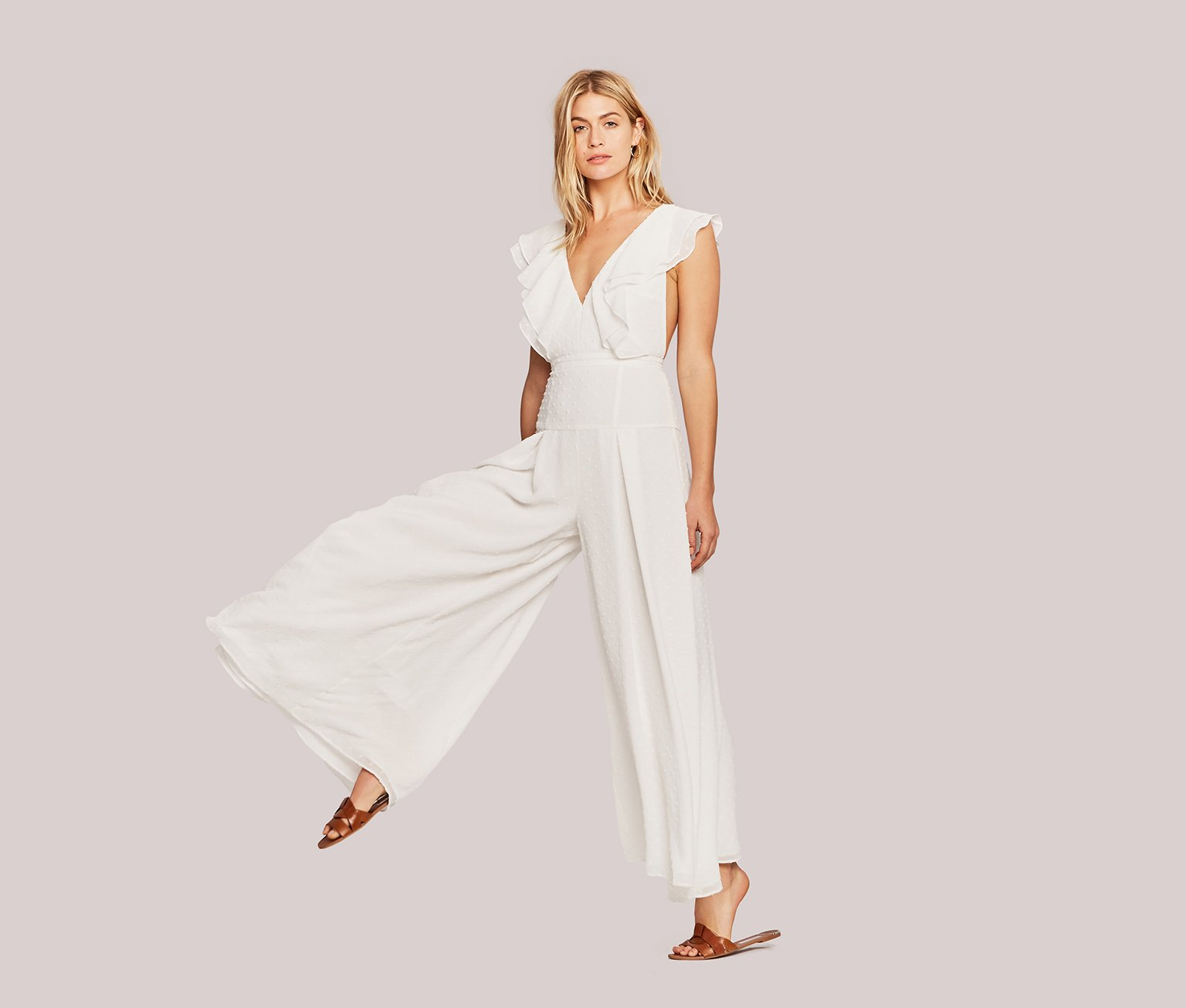 "white The ""Jacy"" Jumpsuit"