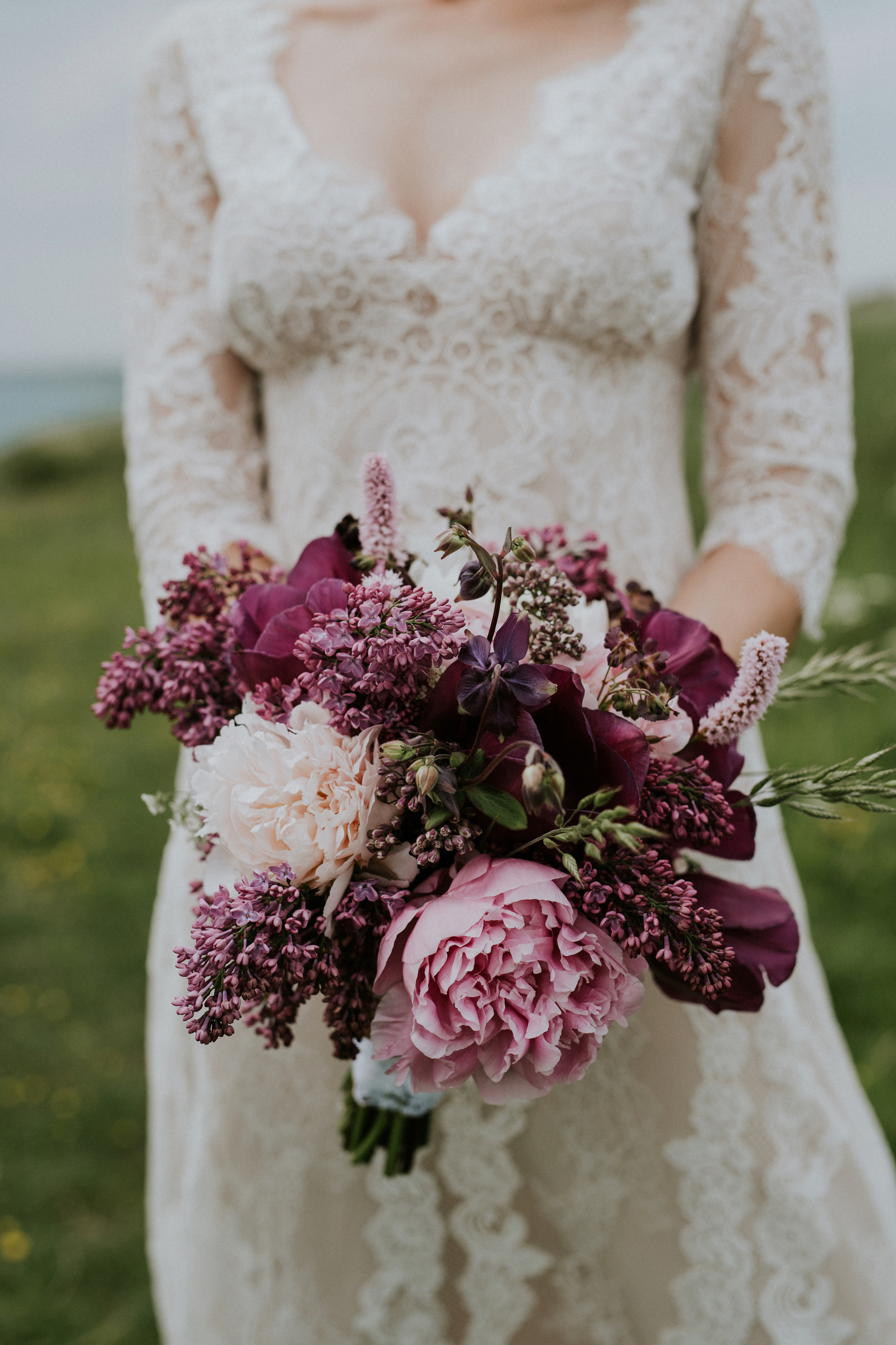 Lilac Bouquet in Shades of Pink