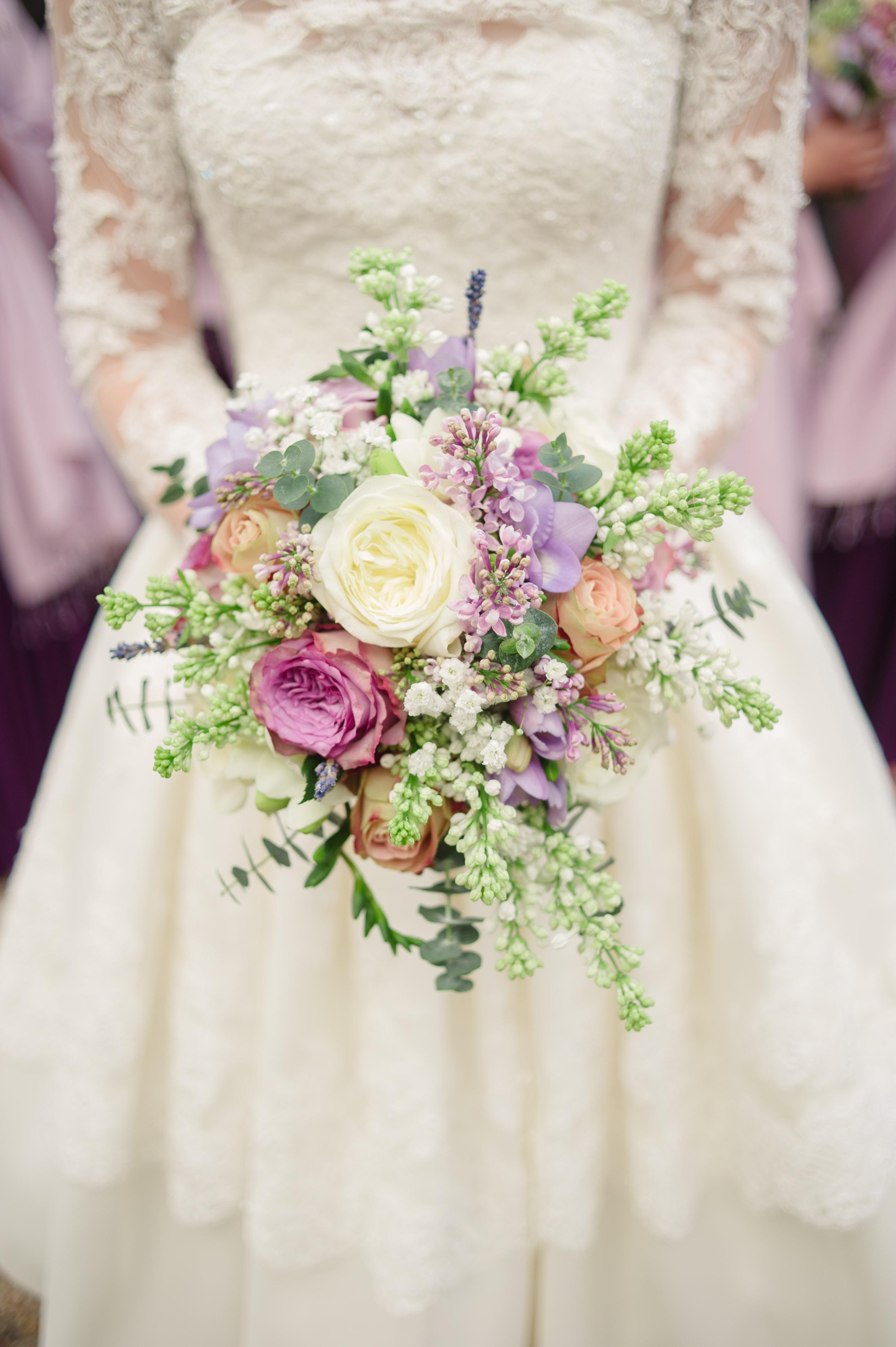 Colorful Lilac Bouquet