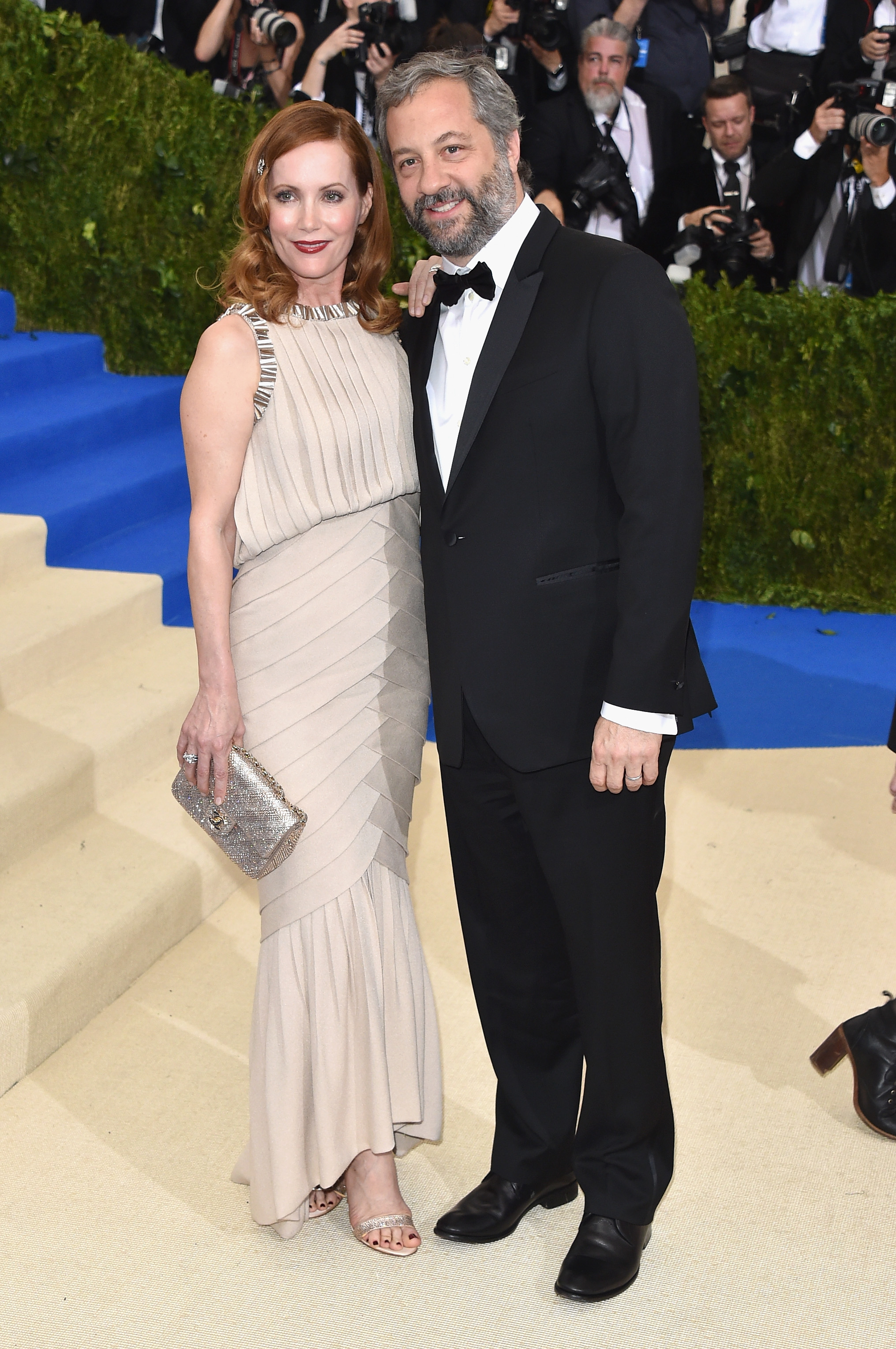 Leslie Mann and Judd Apatow Met Gala 2017