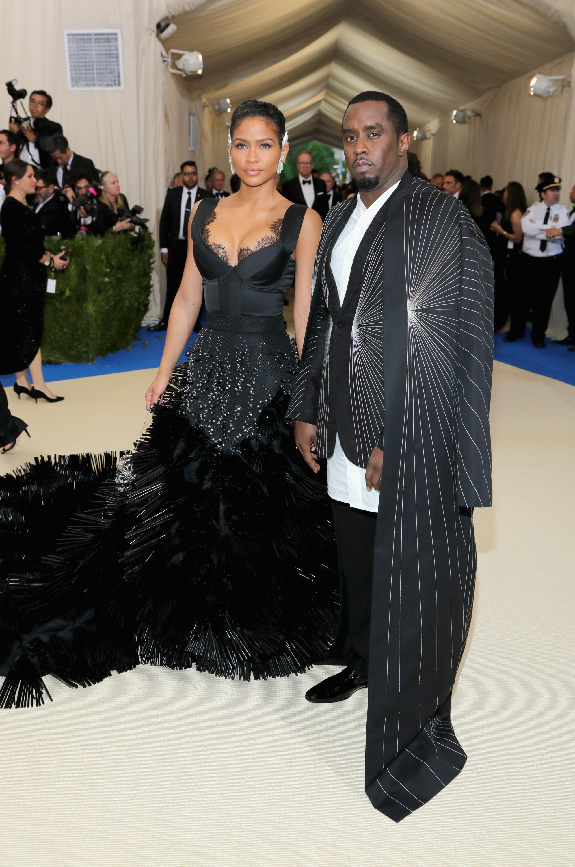 Diddy and Cassie Met Gala 2017
