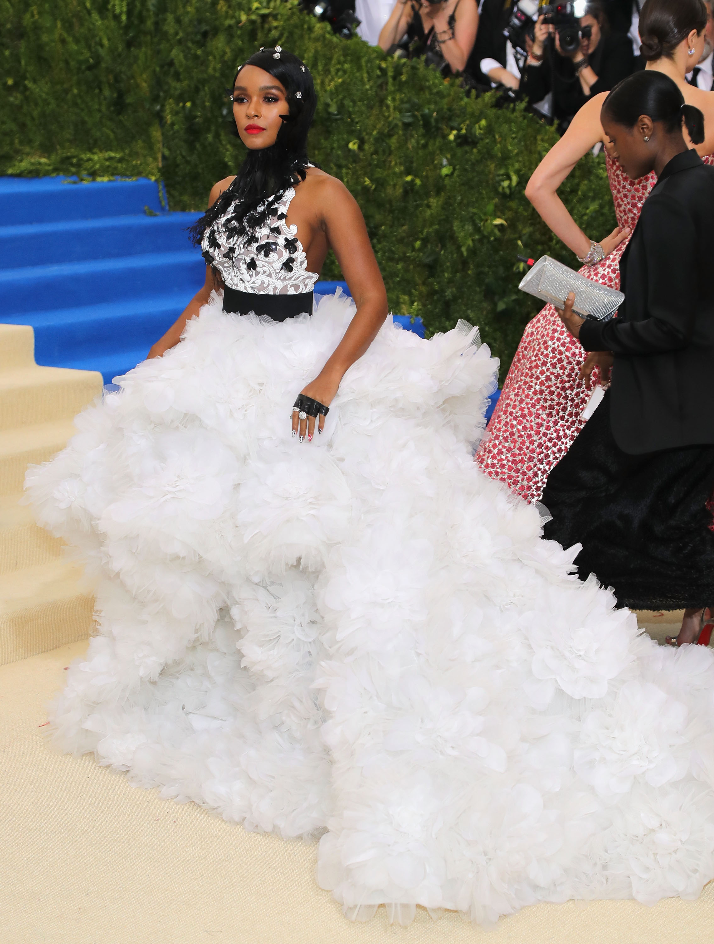 Janelle Monae Met Gala 2017 Dress