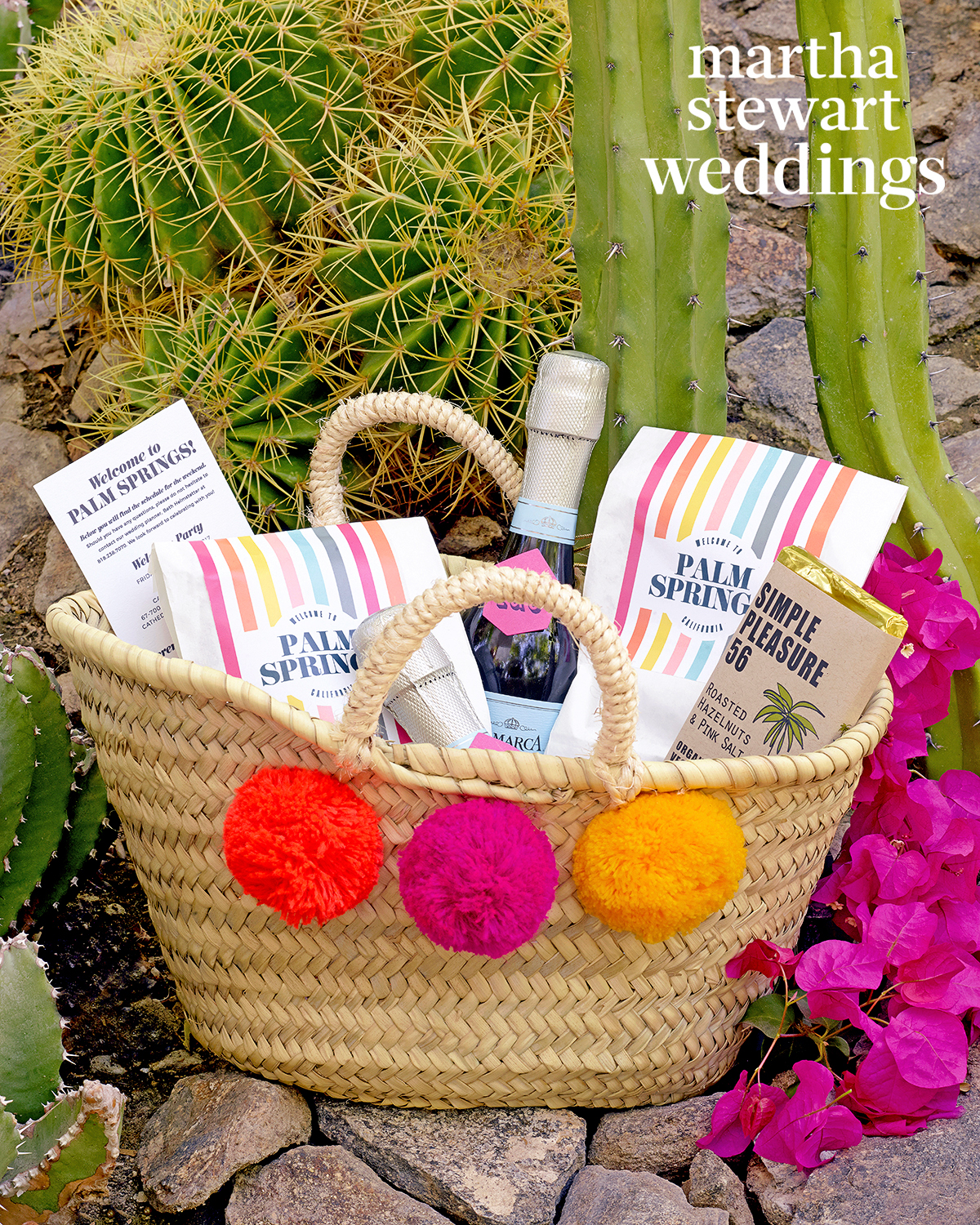 samira wiley lauren morelli wedding welcome bag