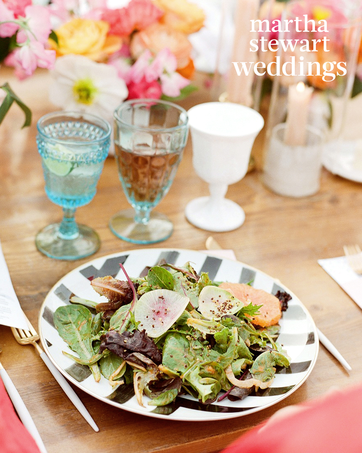samira wiley lauren morelli wedding salad