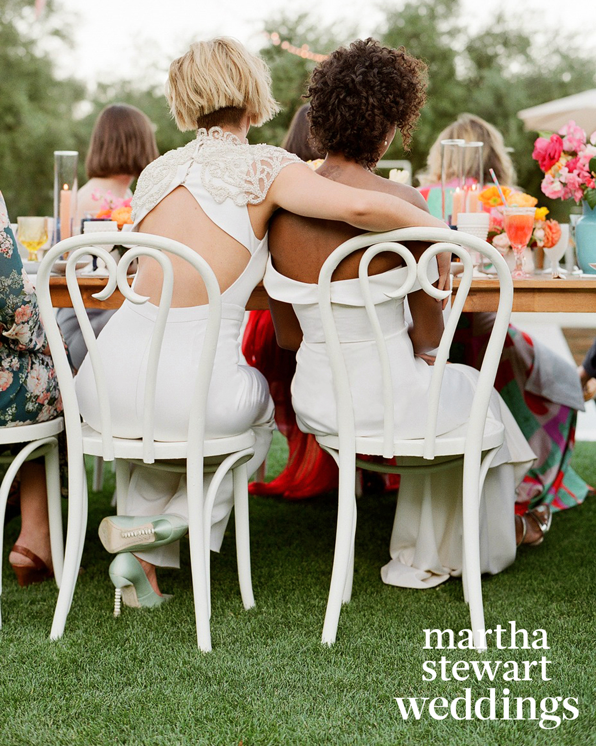 samira wiley lauren morelli wedding toasts