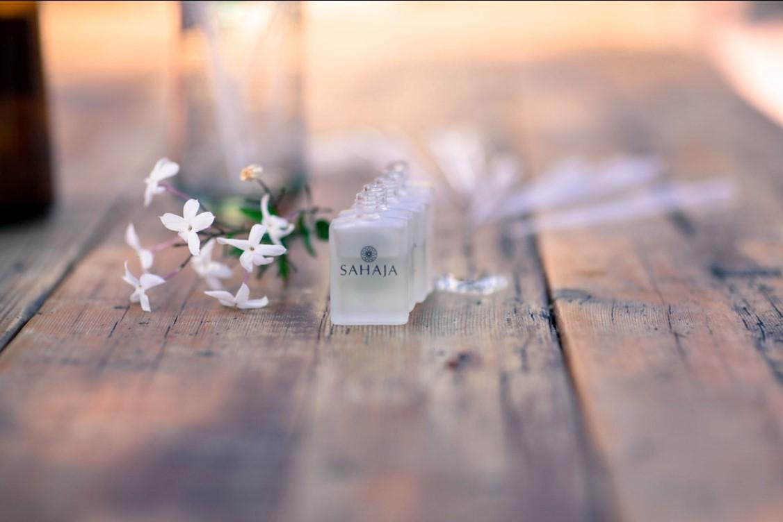 Sahaja Essential Oil wedding fragrance and advice