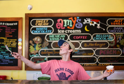 amys ice cream parlor