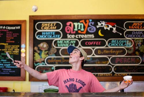 amys ice cream parlor