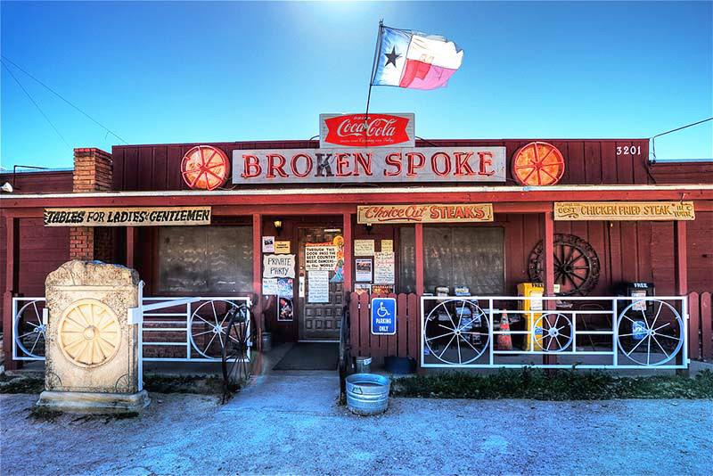 the broken spoke bar
