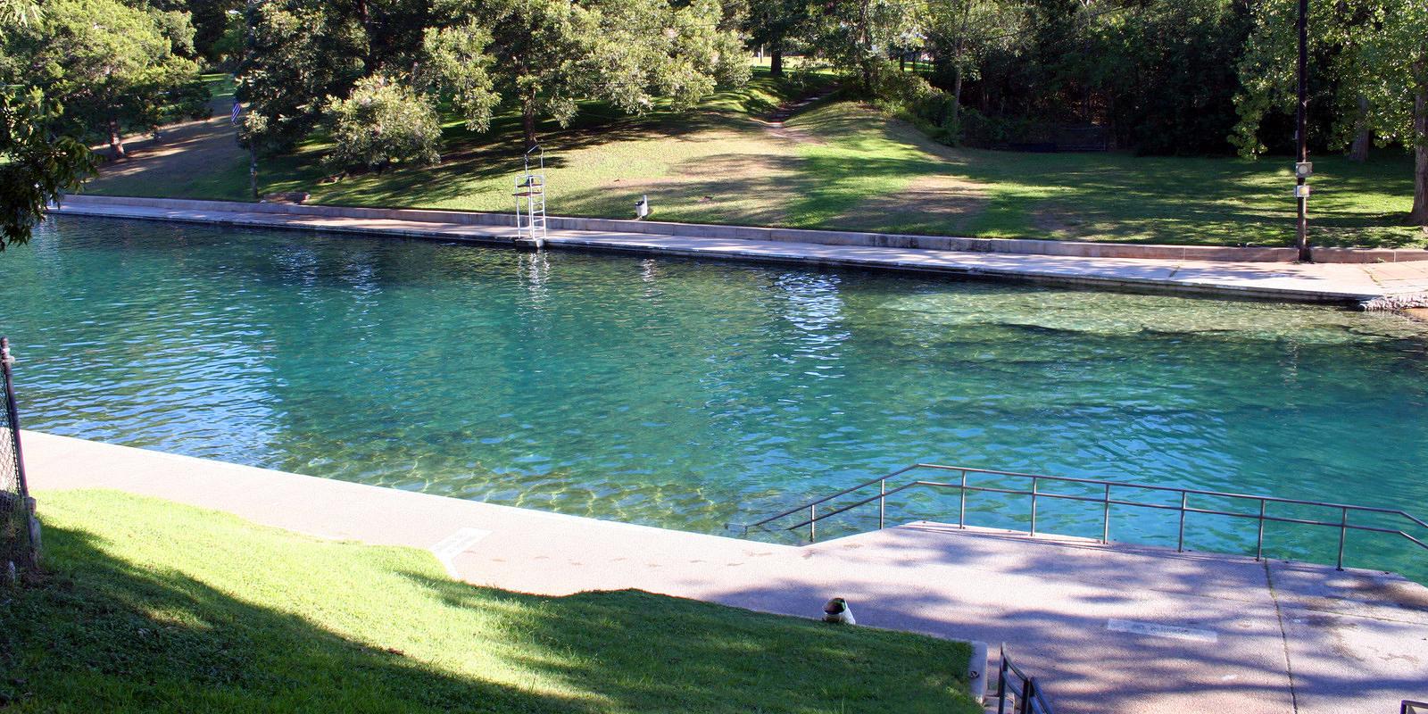 barton spring swimming pool
