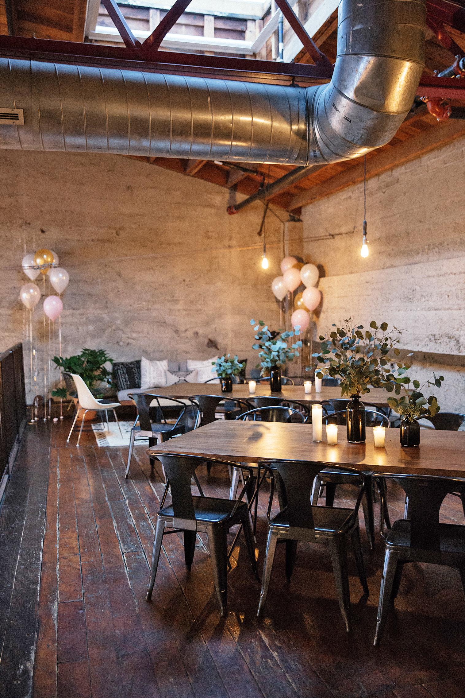 top city bridal shower venues luce loft