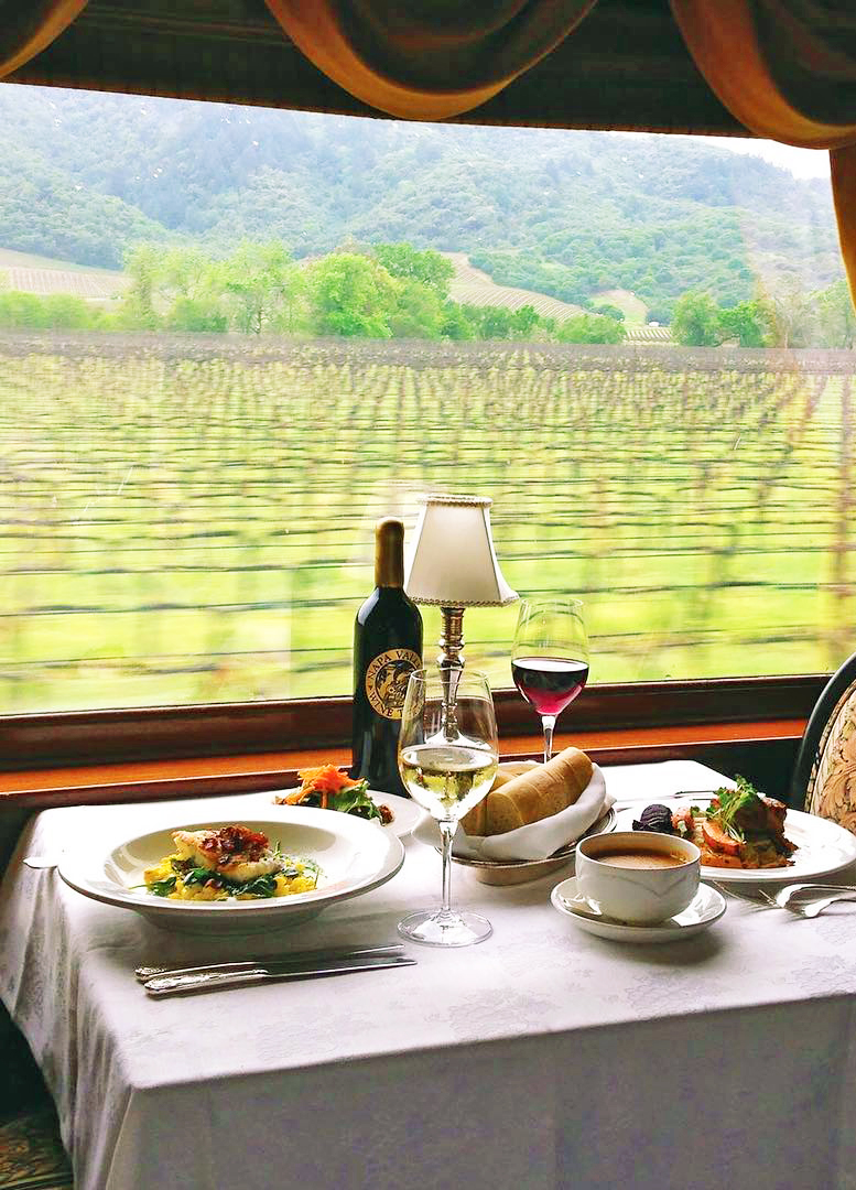Wine Train, Napa, California