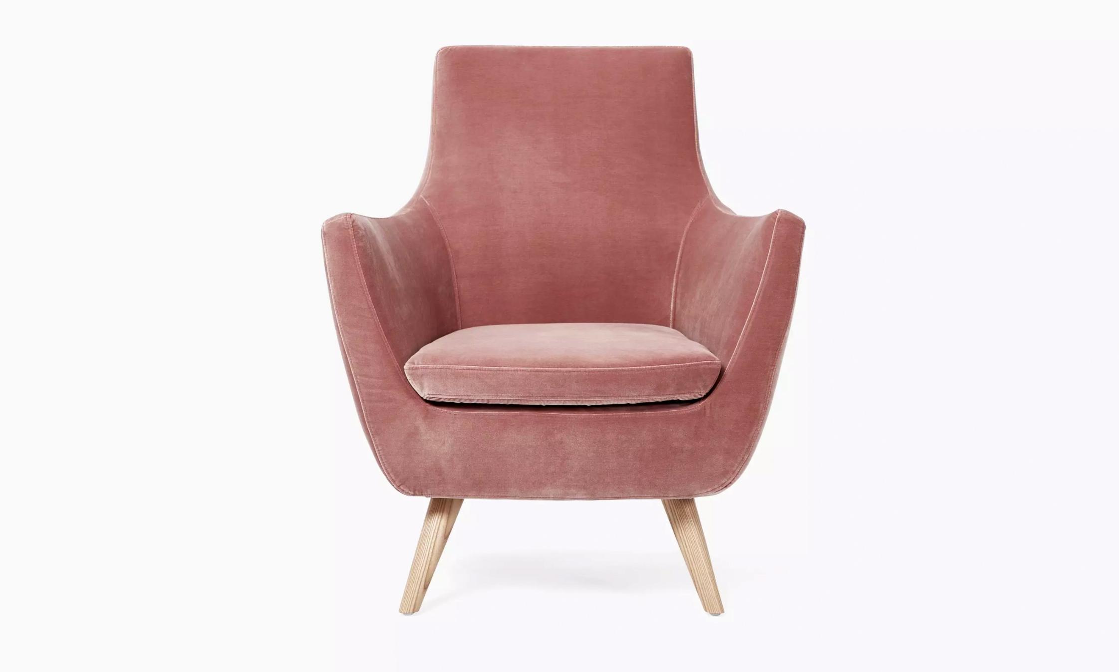 pink registry chair